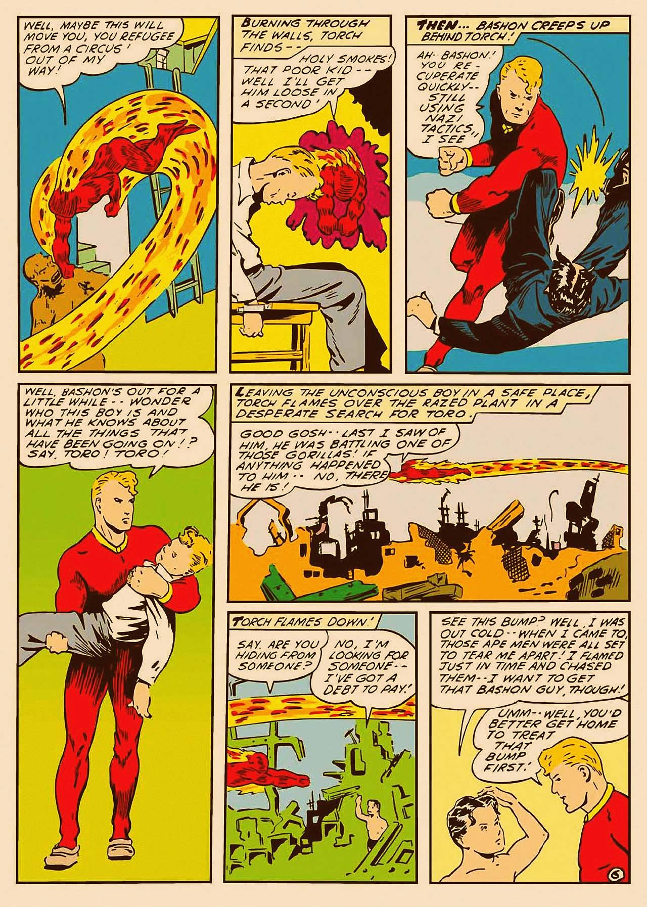 Read online All-Winners Comics comic -  Issue #9 - 7