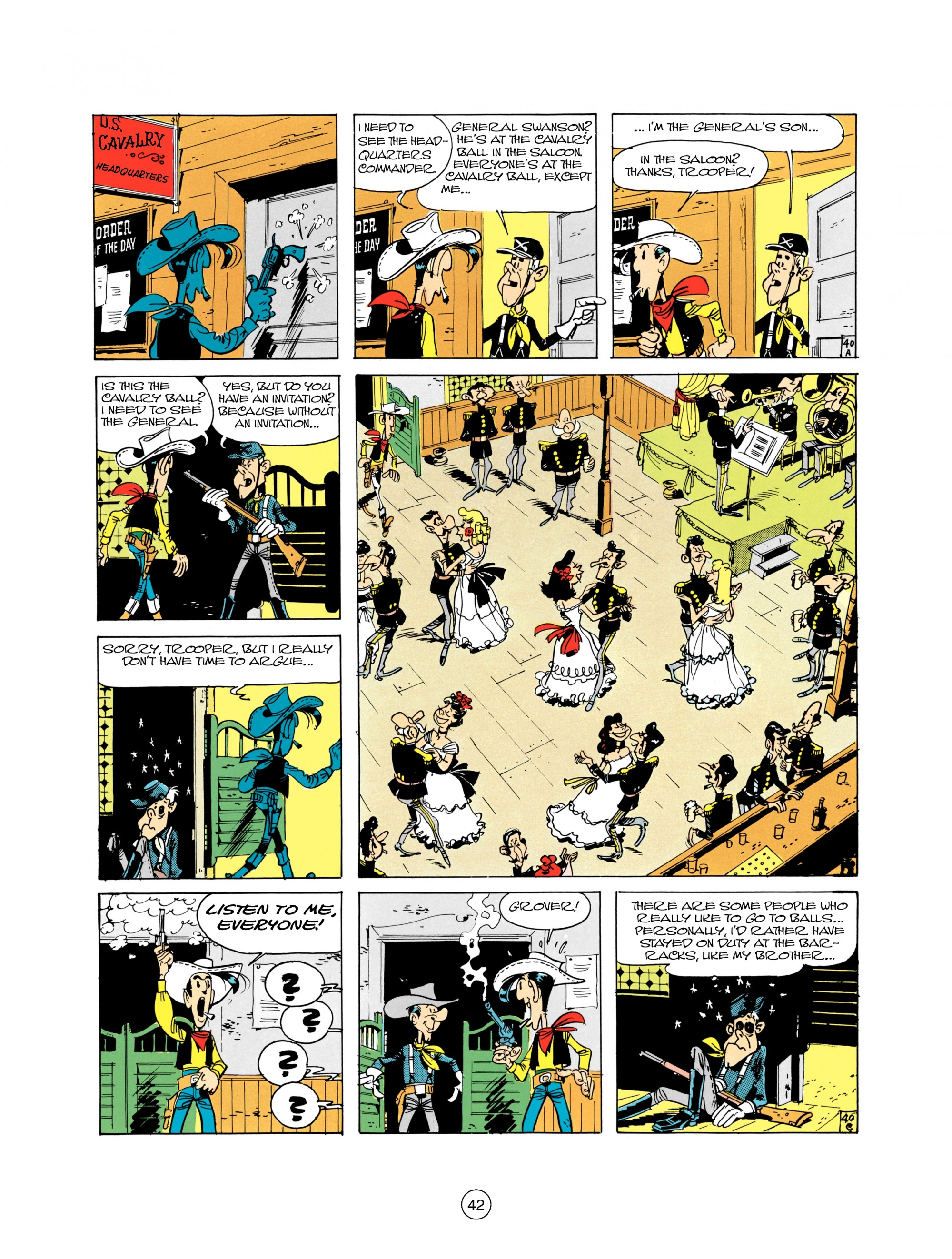 Read online A Lucky Luke Adventure comic -  Issue #21 - 42