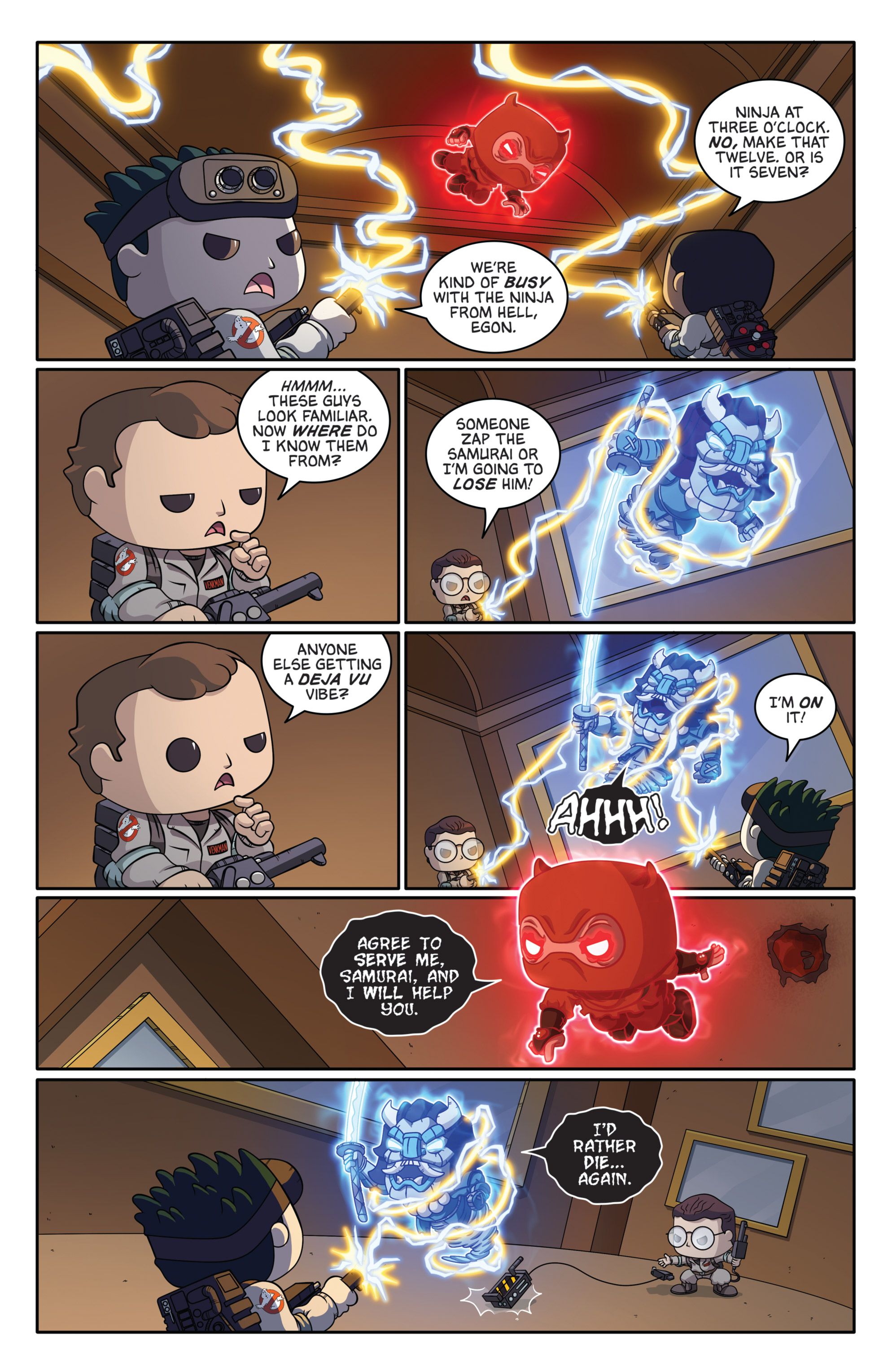 Read online Ghostbusters Funko Universe comic -  Issue # Full - 8