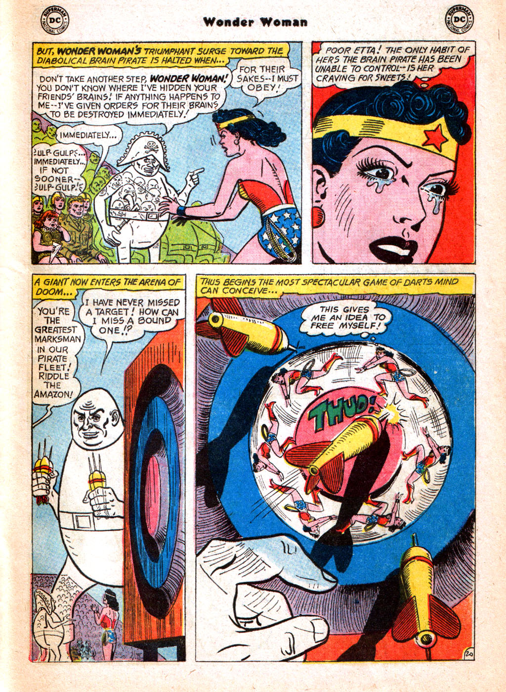 Read online Wonder Woman (1942) comic -  Issue #156 - 29