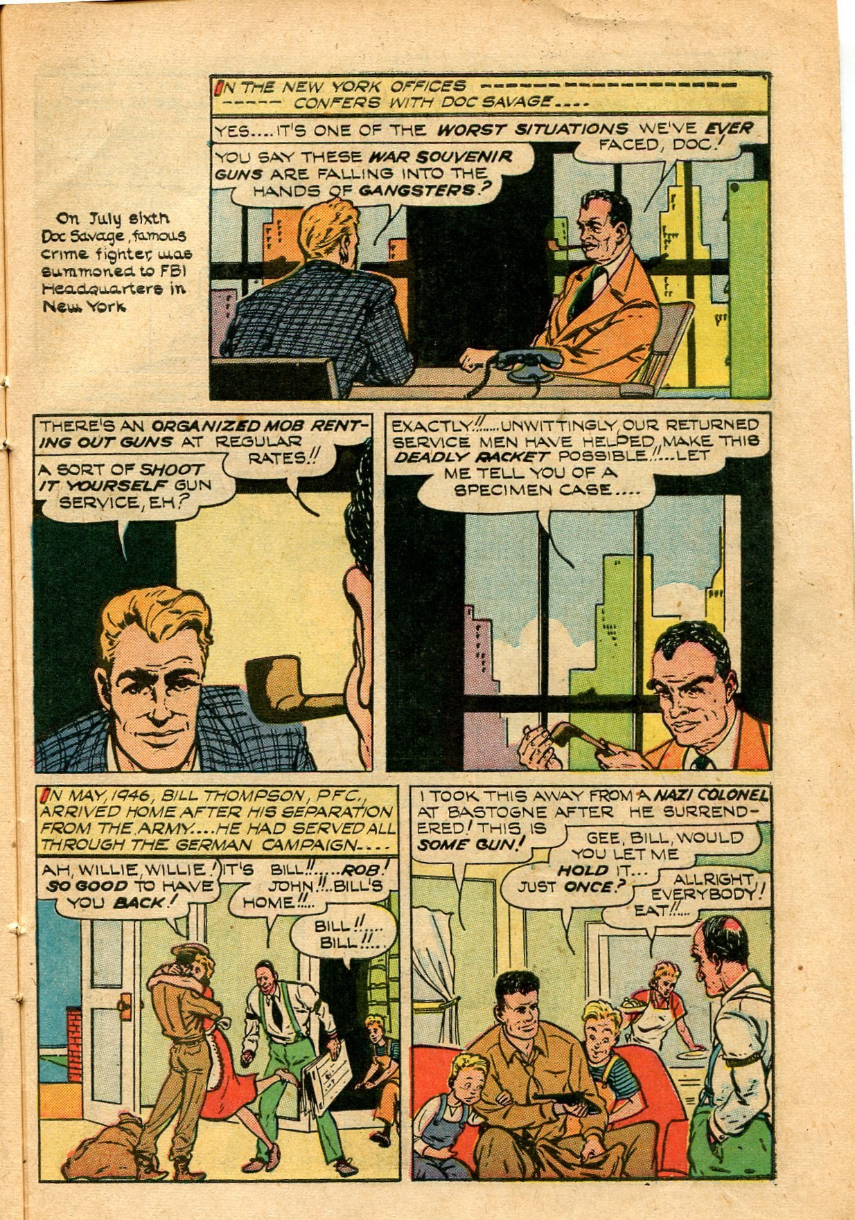 Read online Shadow Comics comic -  Issue #82 - 39