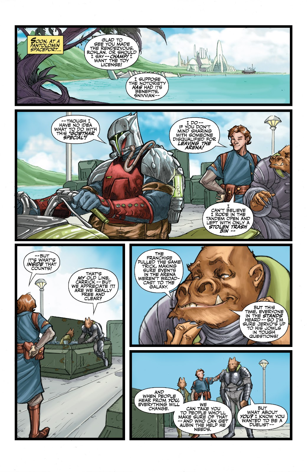Read online Star Wars Legends: The Old Republic - Epic Collection comic -  Issue # TPB 3 (Part 1) - 92