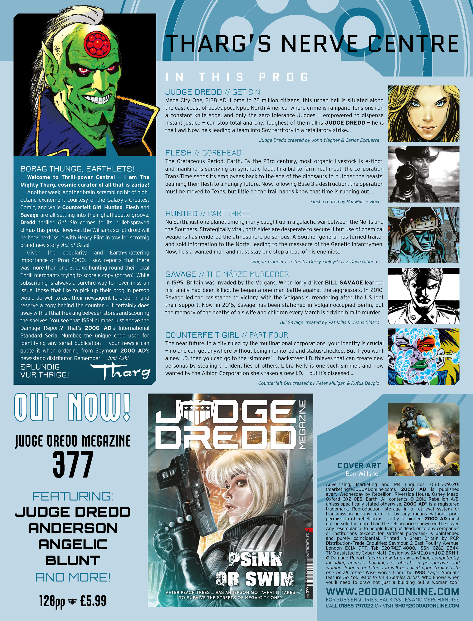 Read online 2000 AD comic -  Issue #2003 - 2