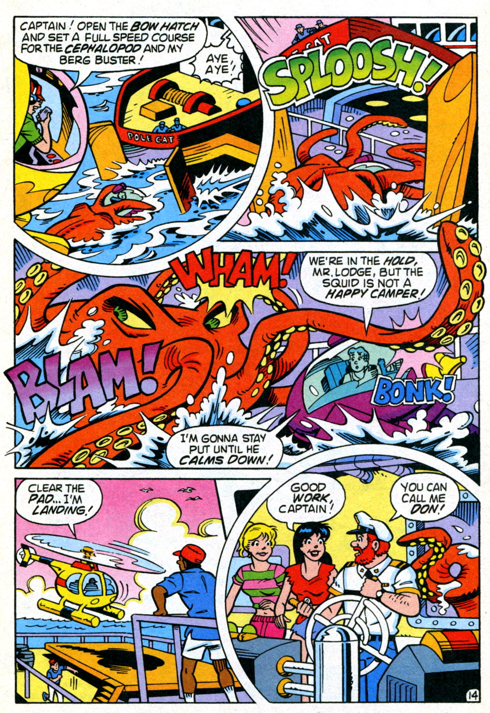 Read online World of Archie comic -  Issue #22 - 21