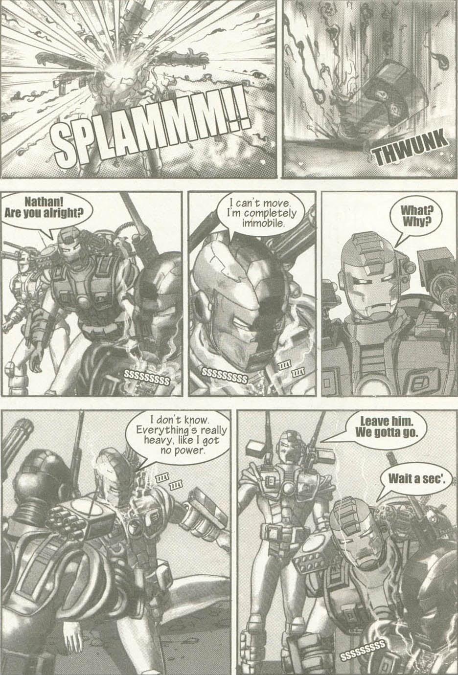 Read online U.S. War Machine comic -  Issue #6 - 19