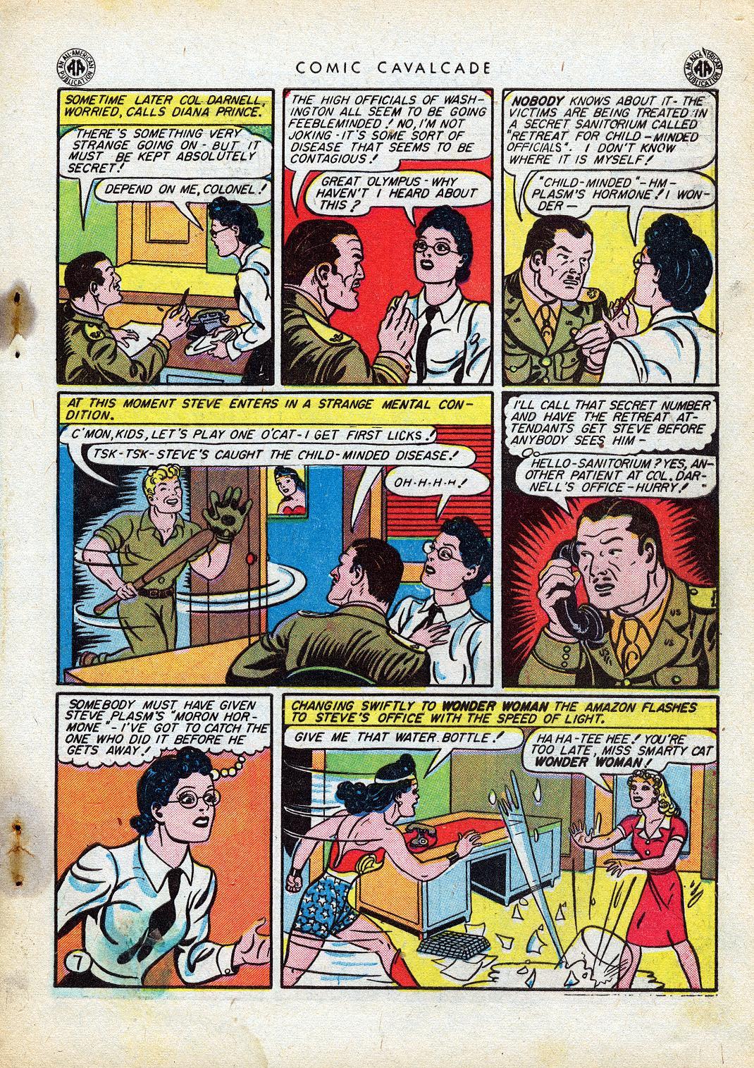 Comic Cavalcade issue 10 - Page 9