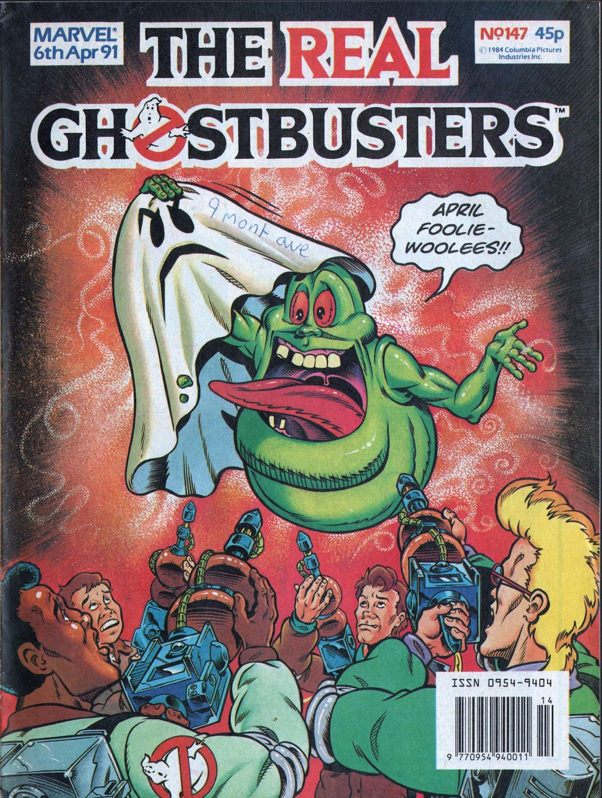 The Real Ghostbusters 147 Page 1