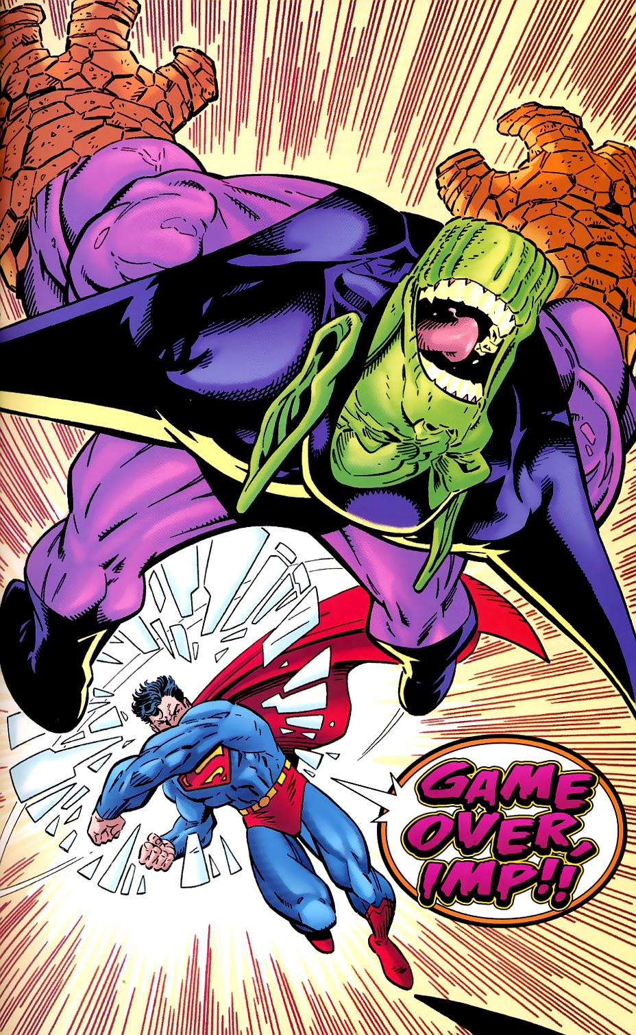Read online Silver Surfer/Superman comic -  Issue # Full - 23