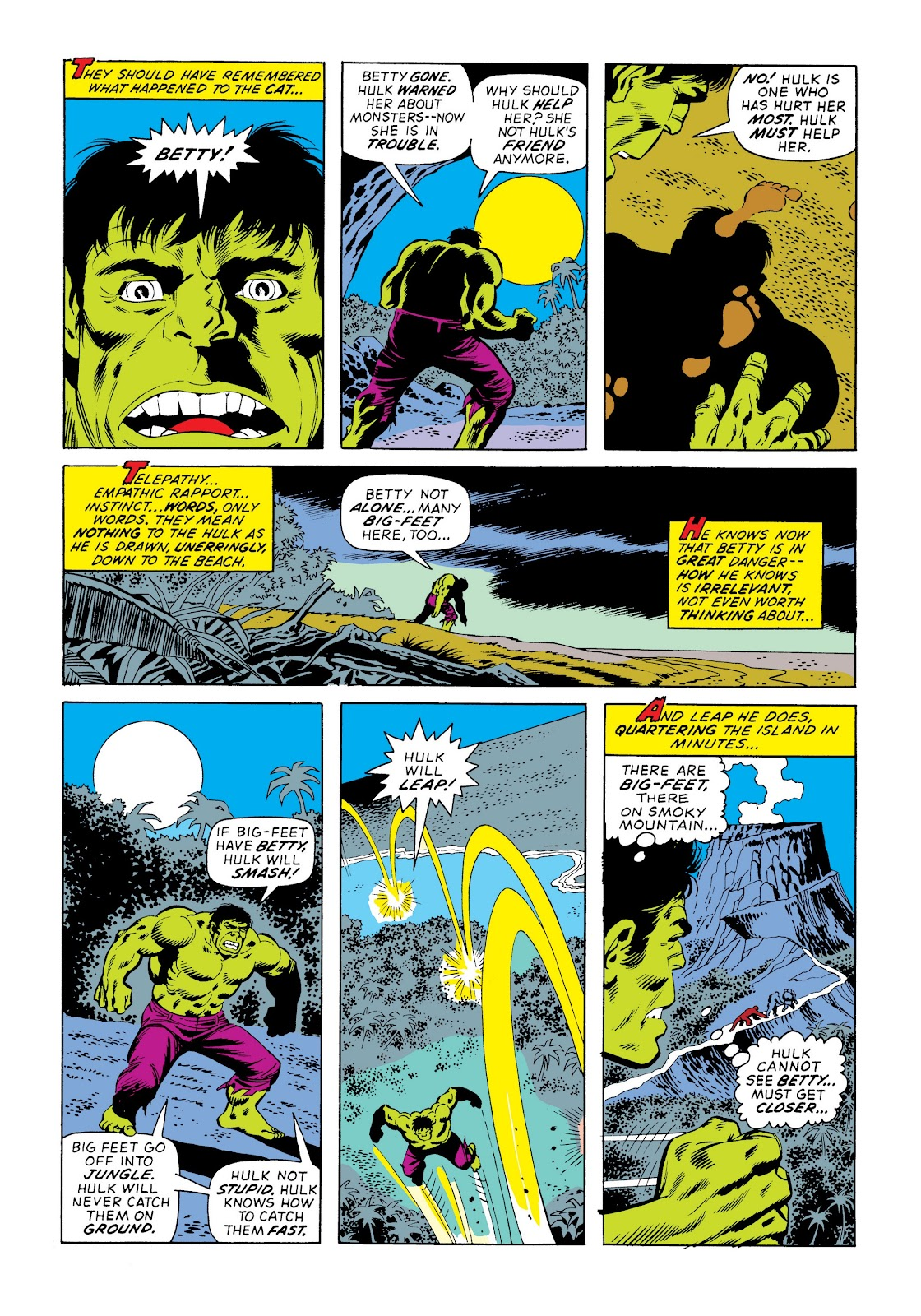 Read online Marvel Masterworks: The Incredible Hulk comic -  Issue # TPB 9 (Part 3) - 92