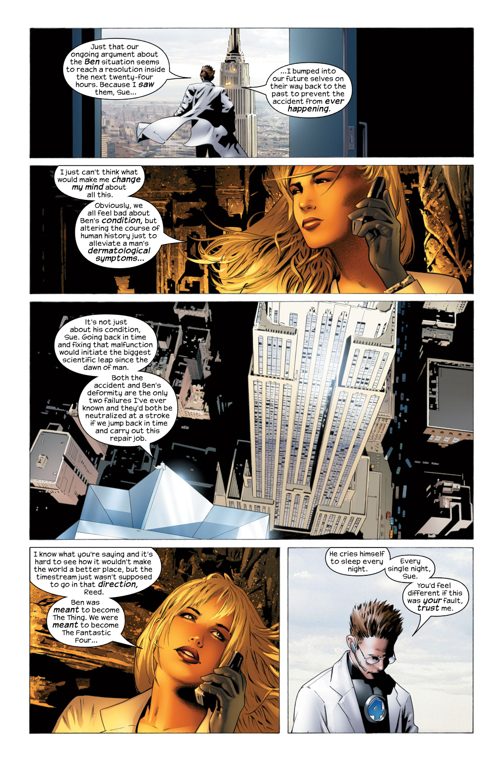 Read online Ultimate Fantastic Four (2004) comic -  Issue #27 - 8