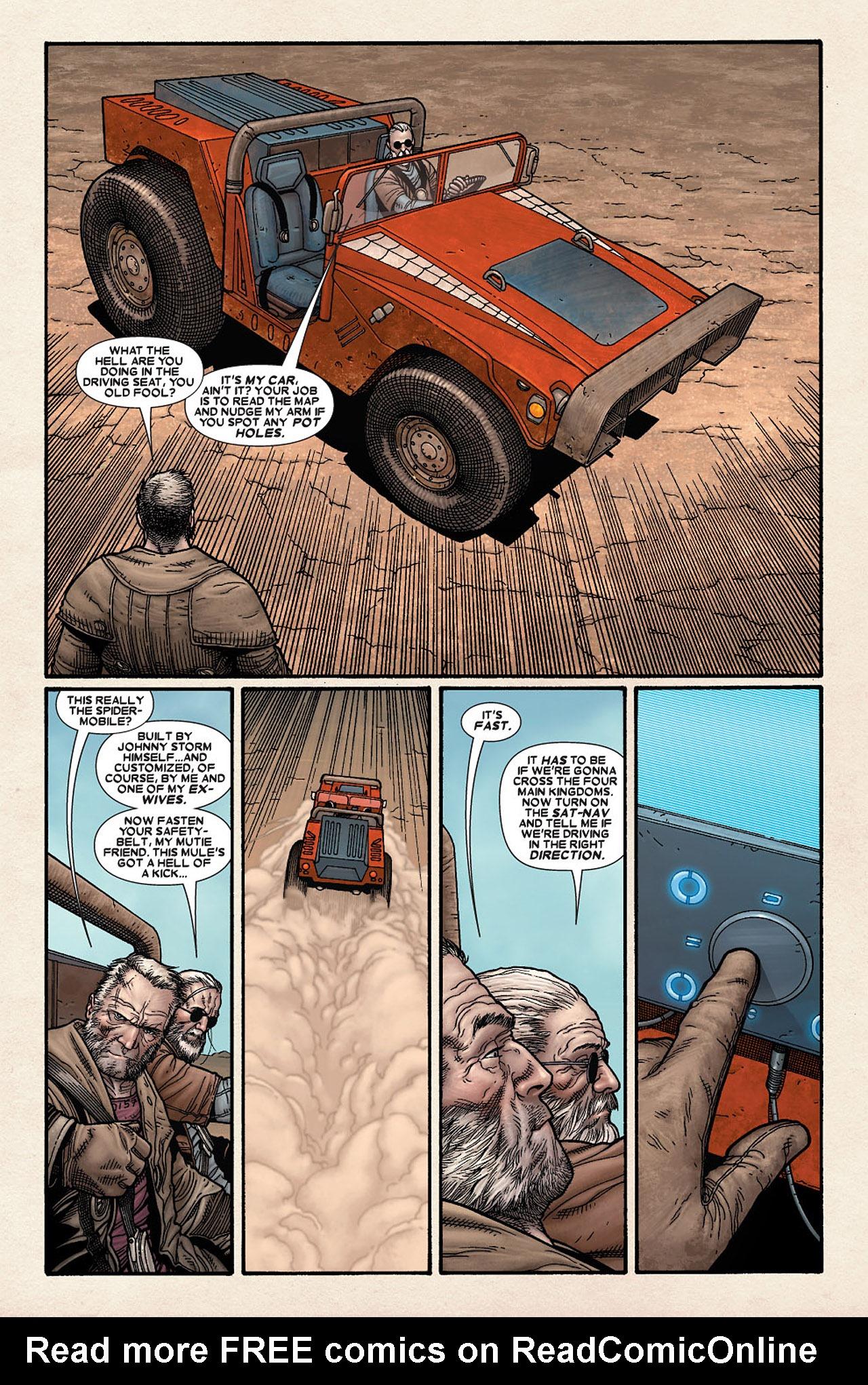 Read online Wolverine: Old Man Logan comic -  Issue # Full - 22