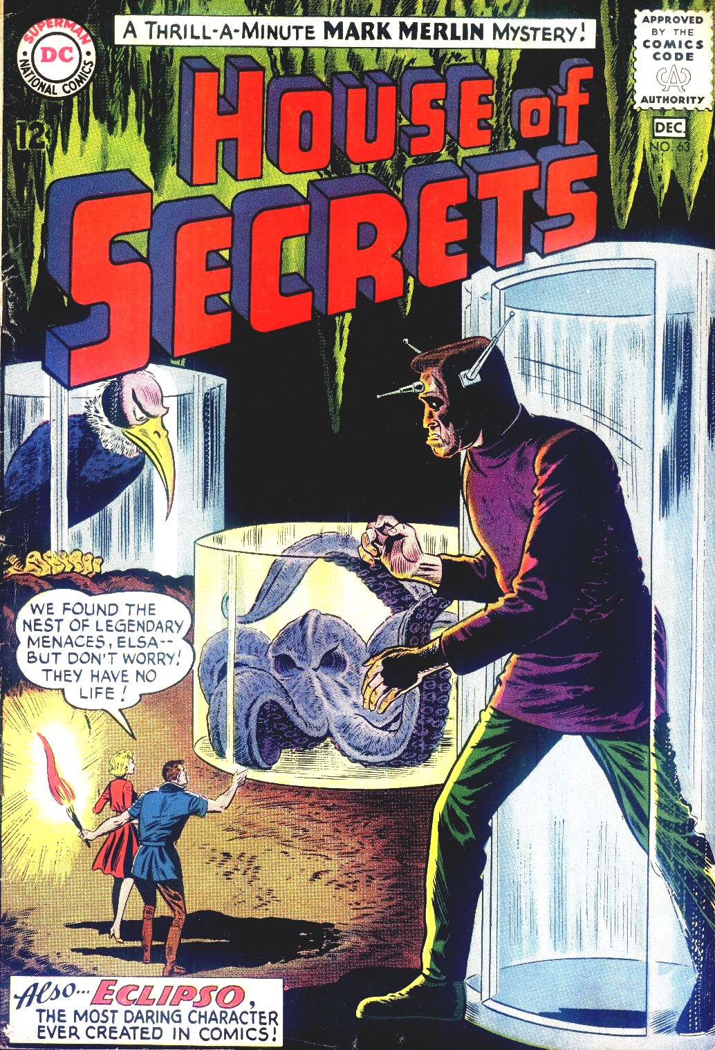 House of Secrets (1956) issue 63 - Page 1