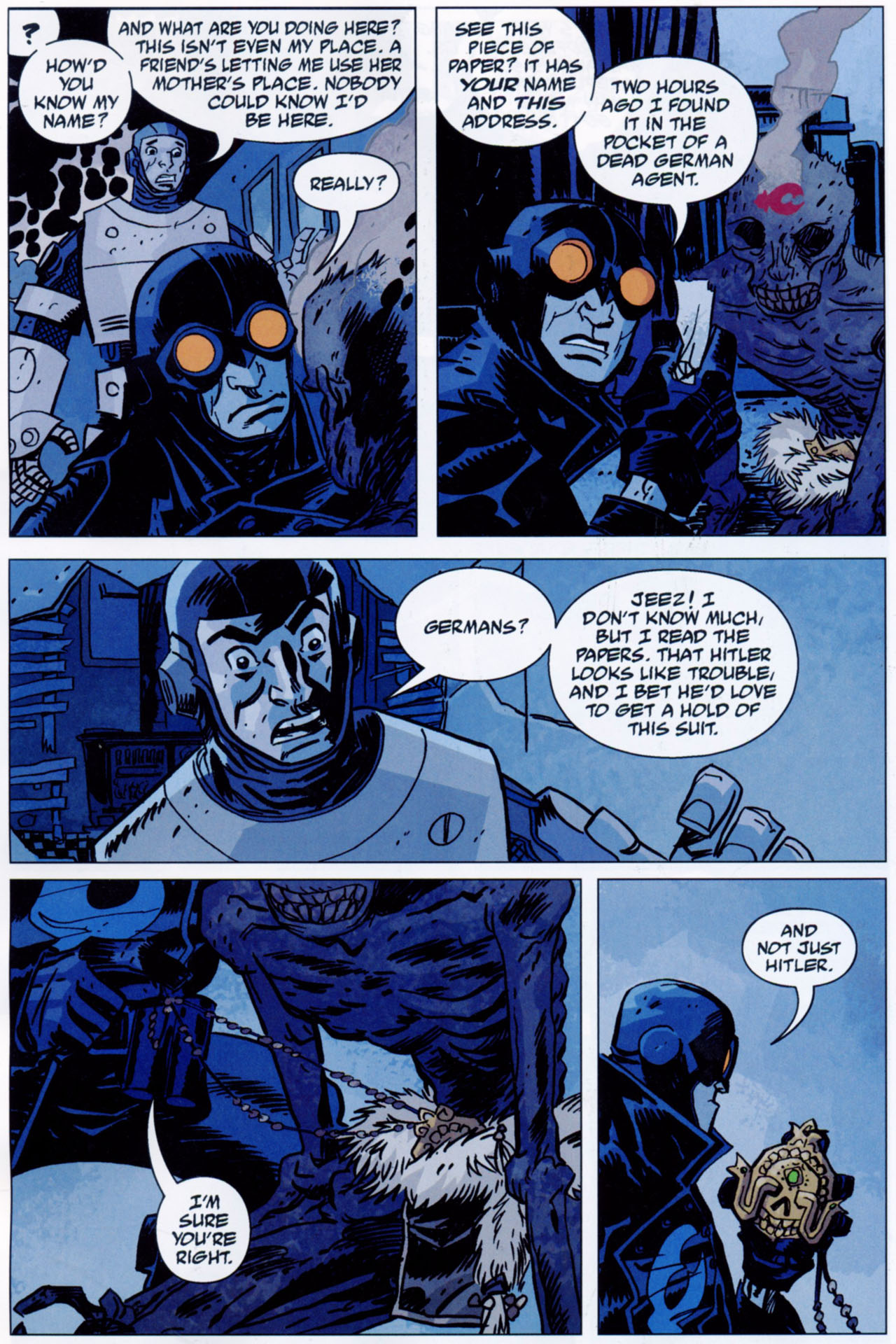 Read online Lobster Johnson: The Iron Prometheus comic -  Issue #1 - 11