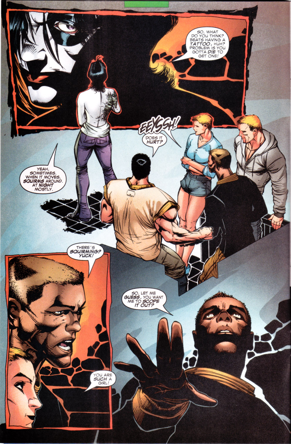 Read online X-Force (1991) comic -  Issue #108 - 3