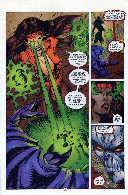 Read online Ex-Mutants comic -  Issue #17 - 4