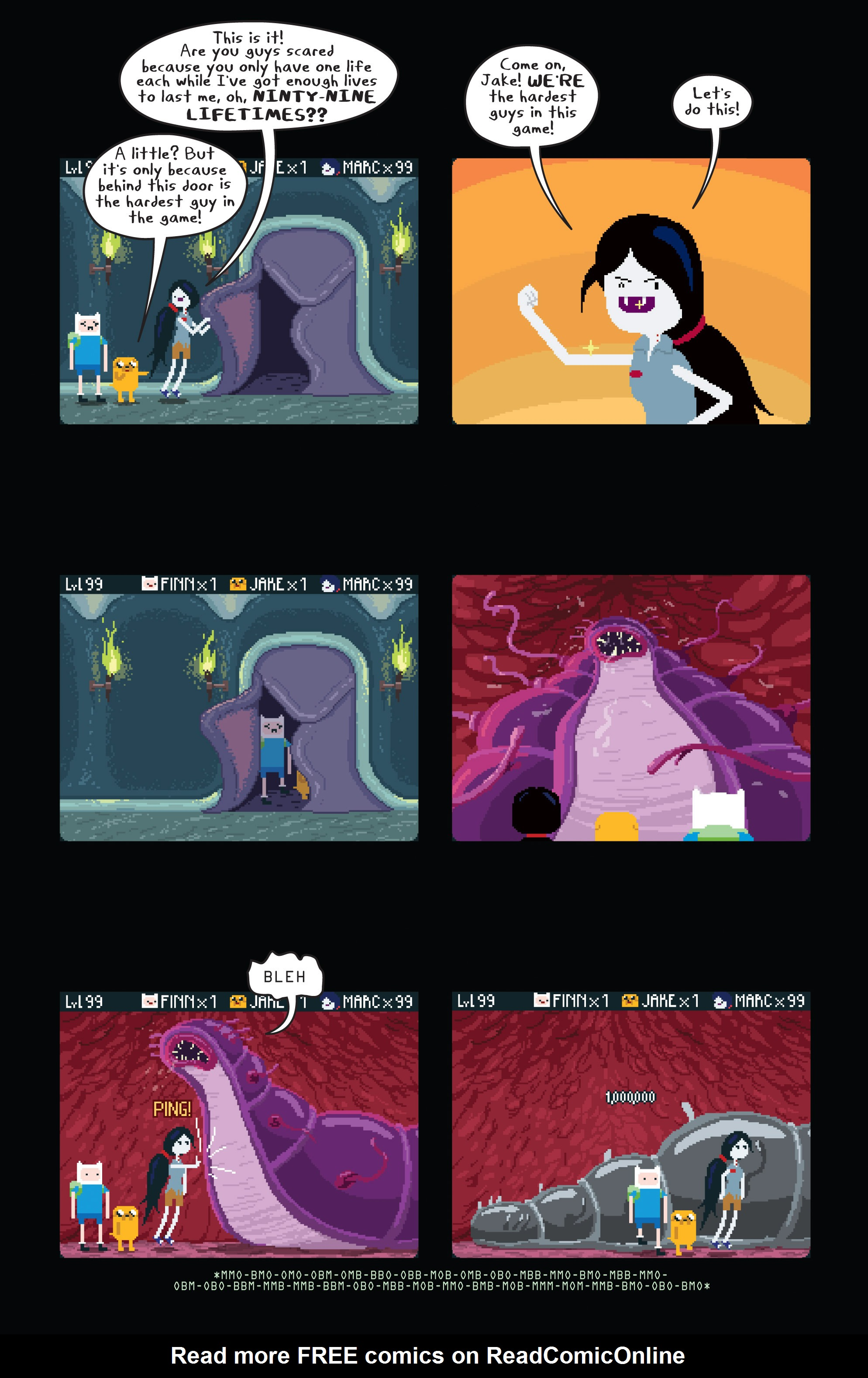 Read online Adventure Time comic -  Issue #11 - 18