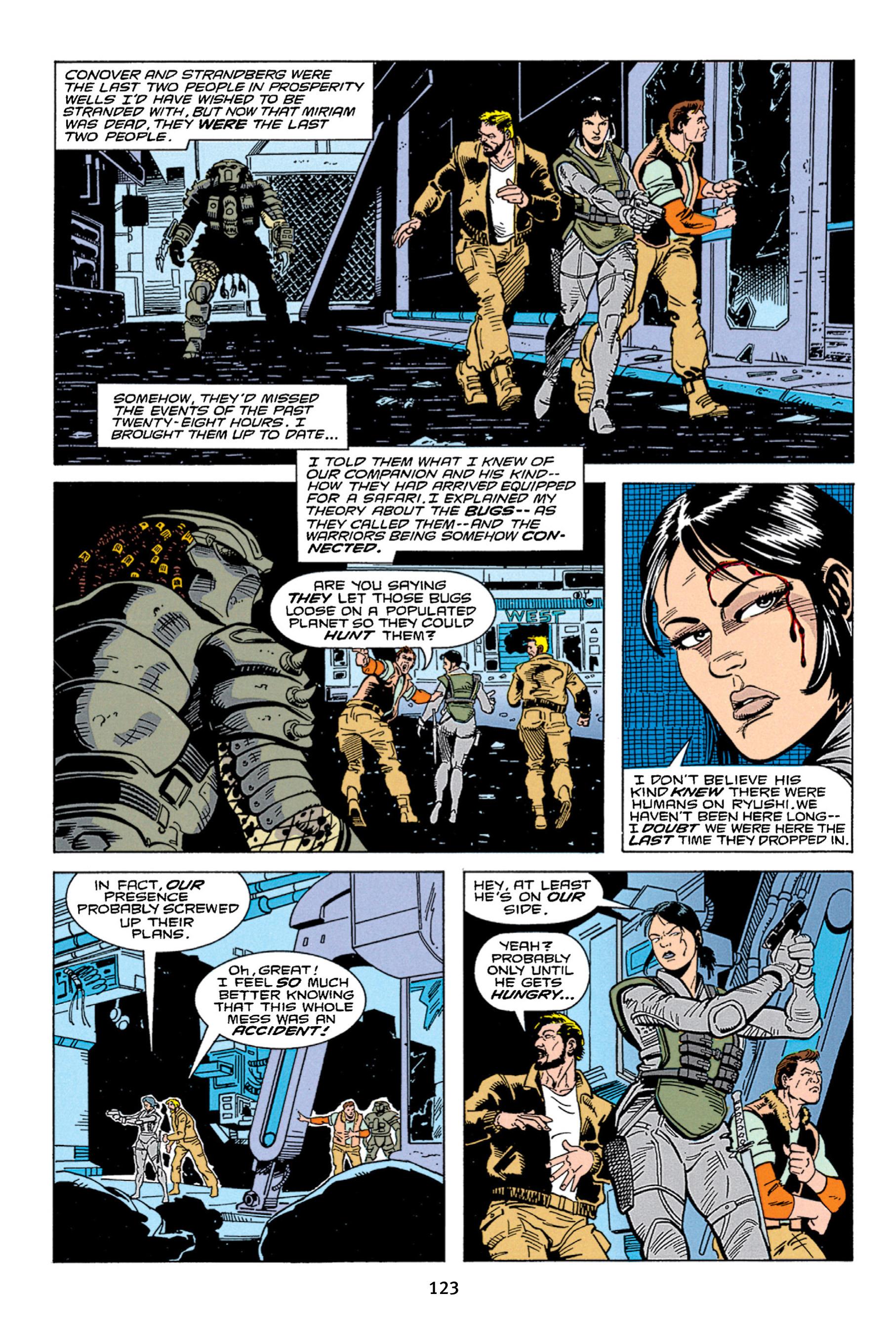 Read online Aliens vs. Predator Omnibus comic -  Issue # _TPB 1 Part 2 - 22