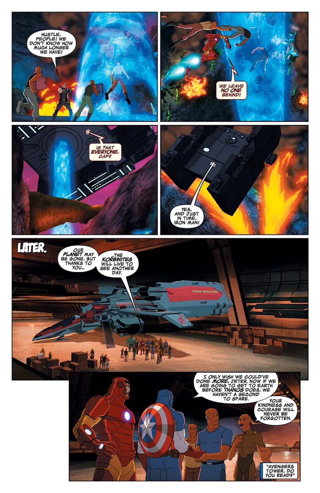 Read online Marvel Universe Avengers Assemble Season 2 comic -  Issue #15 - 27