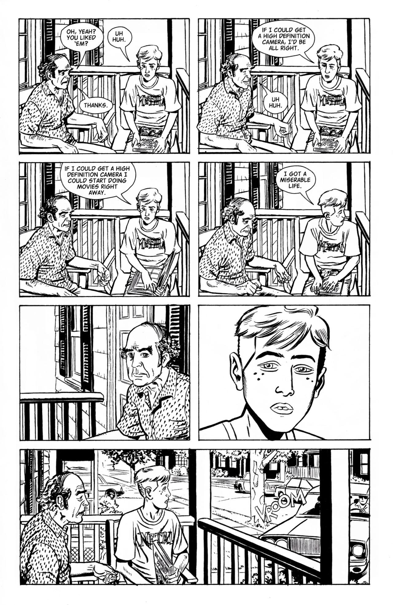 Read online American Splendor (2008) comic -  Issue #1 - 9