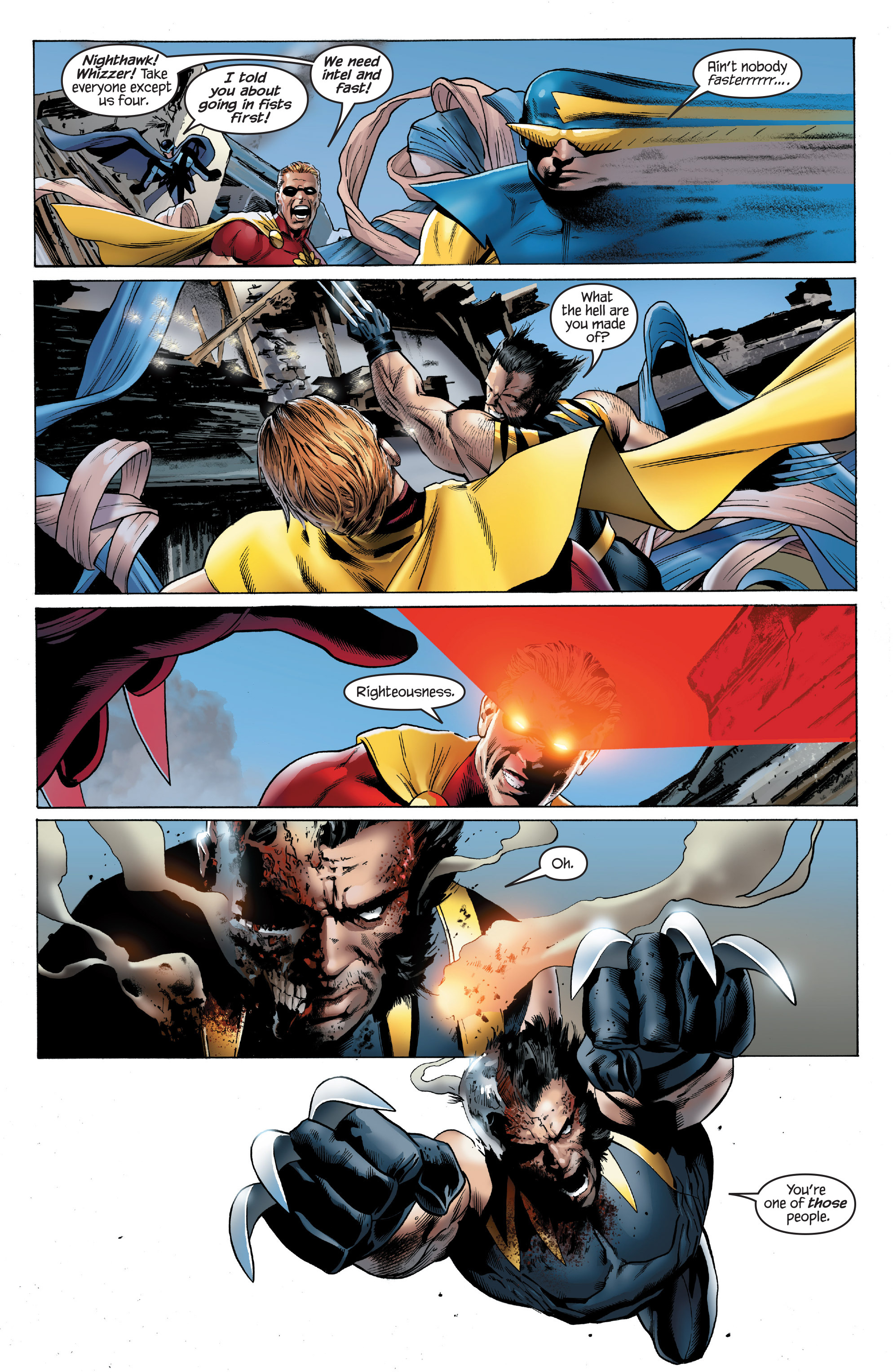 Read online Ultimate Power comic -  Issue #8 - 4