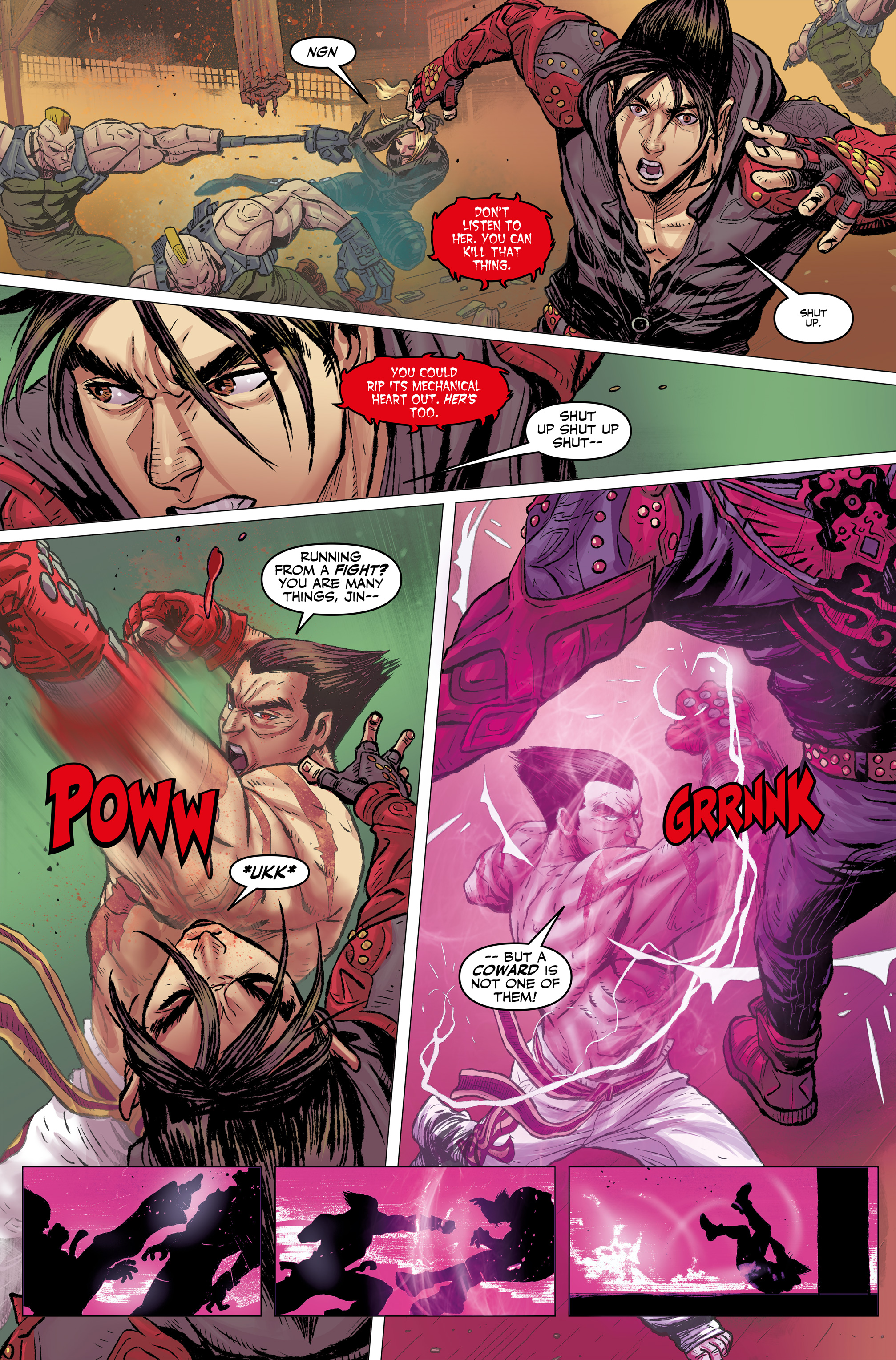Read online Tekken comic -  Issue #2 - 11