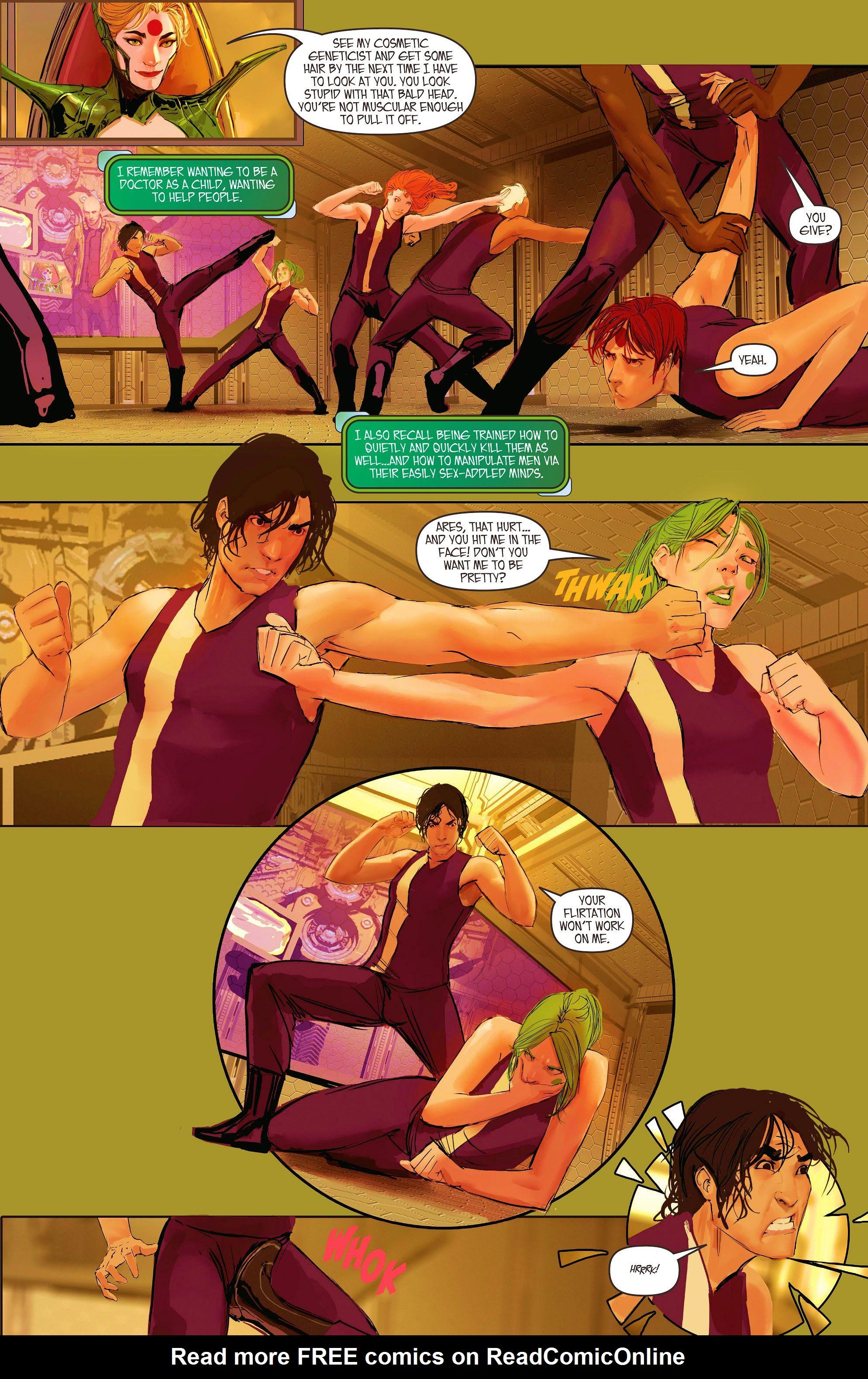 Read online Aphrodite IX (2013) comic -  Issue #10 - 6