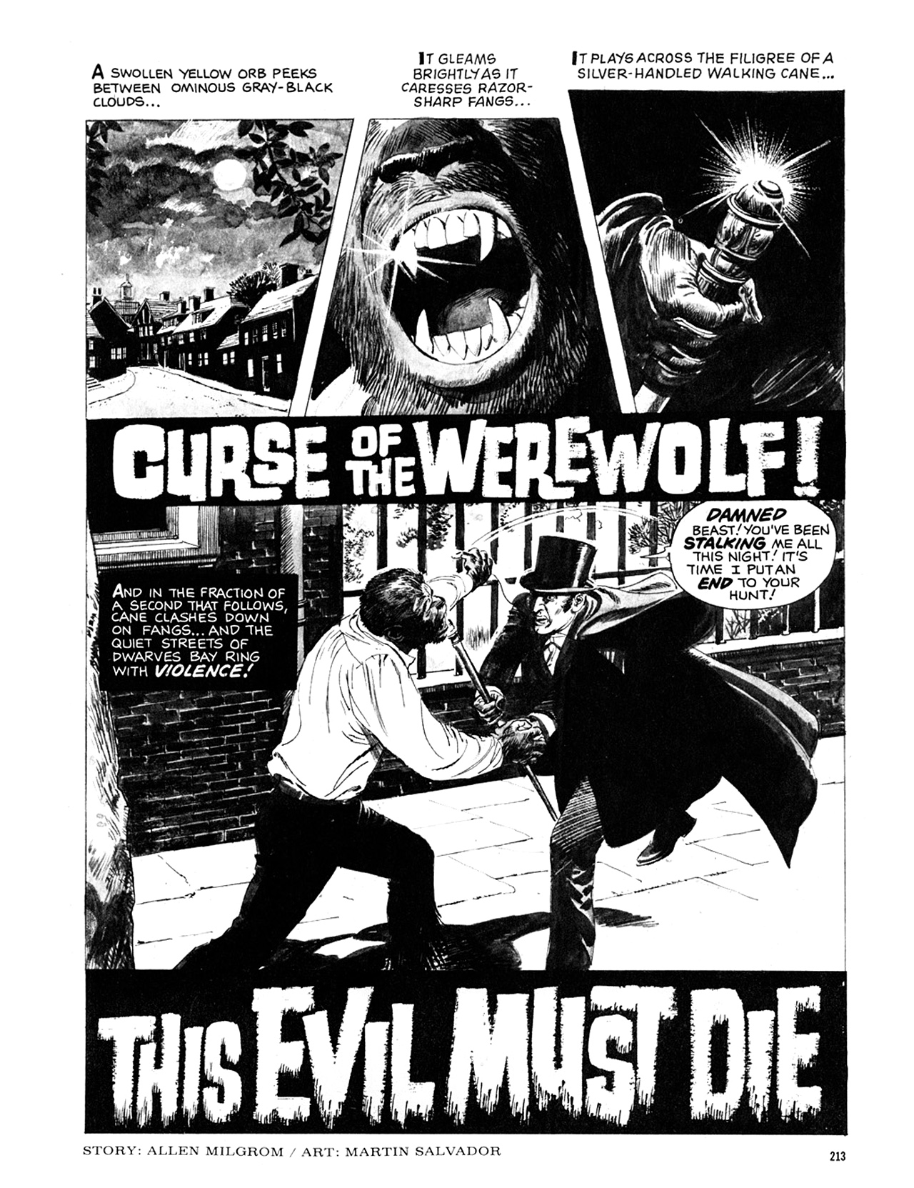 Read online Eerie Archives comic -  Issue # TPB 10 - 214