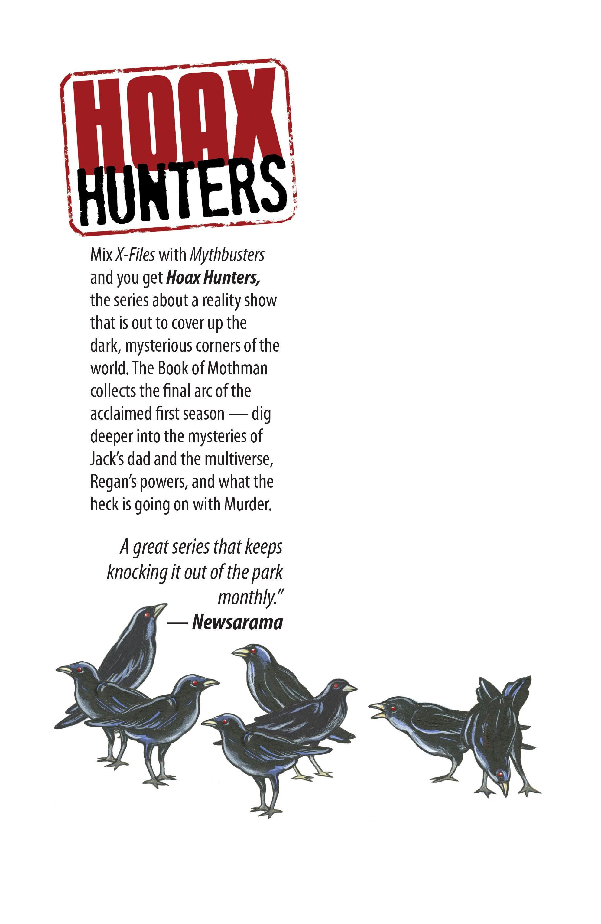 Read online Hoax Hunters (2012) comic -  Issue # TPB 3 - 139