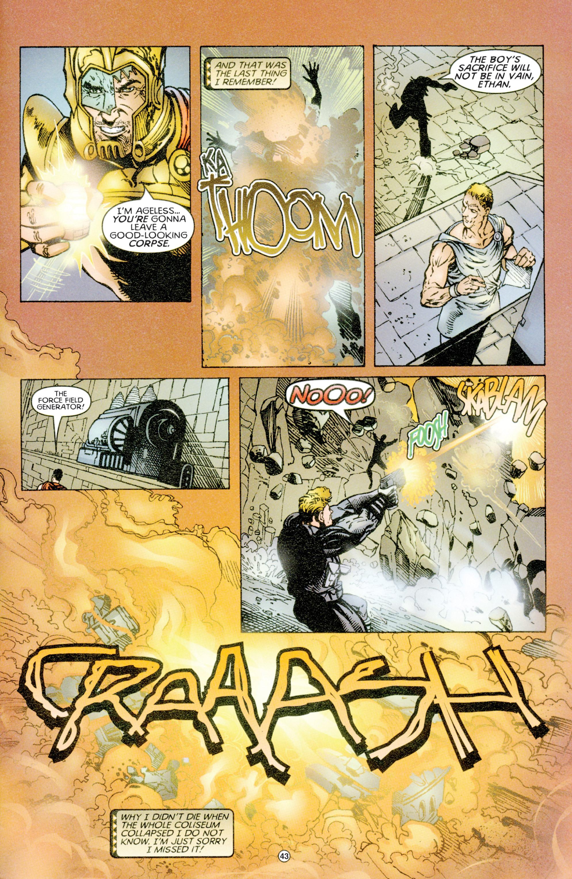 Read online Eternal Warriors comic -  Issue # Issue Time & Treachery - 42