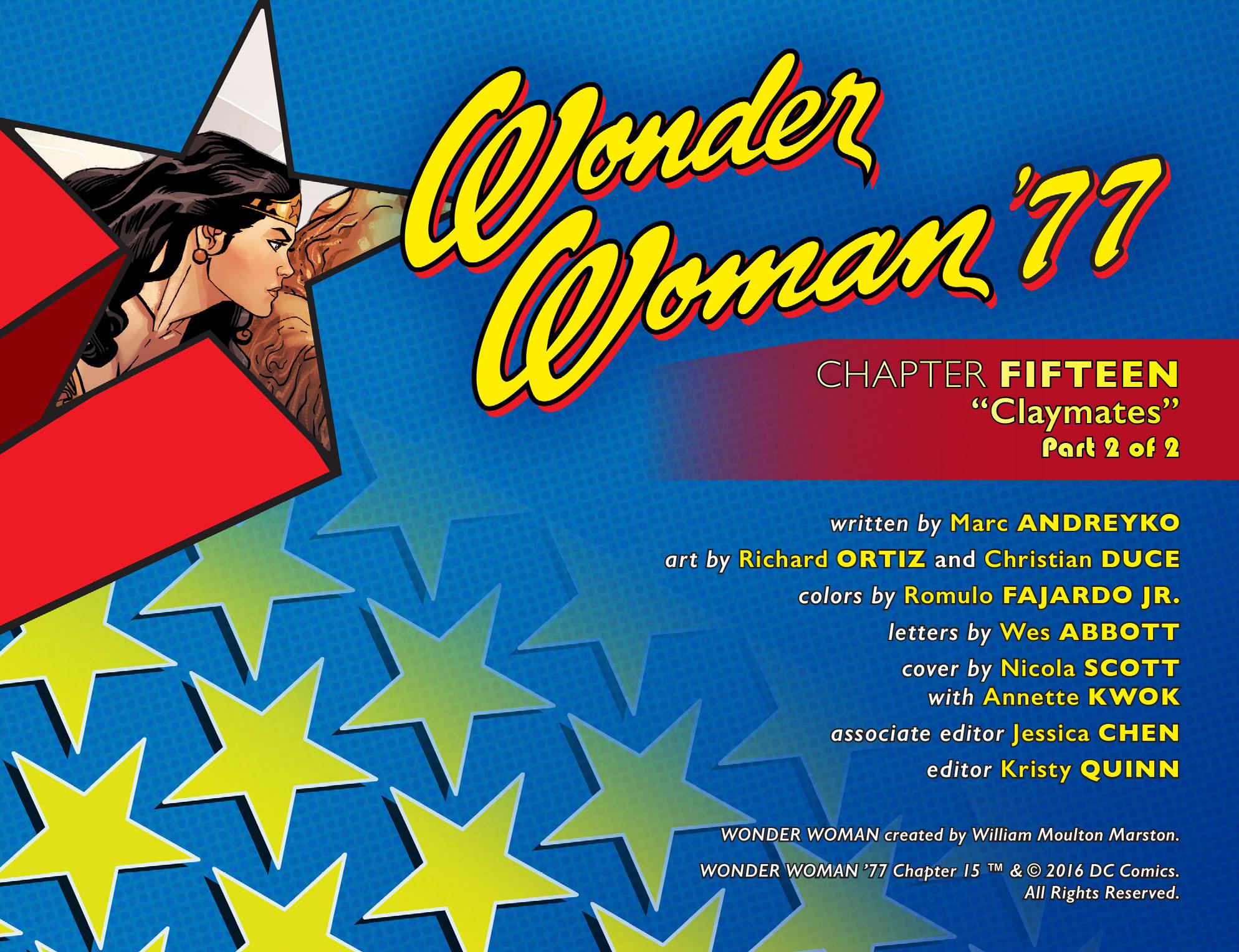 Read online Wonder Woman '77 [I] comic -  Issue #15 - 2