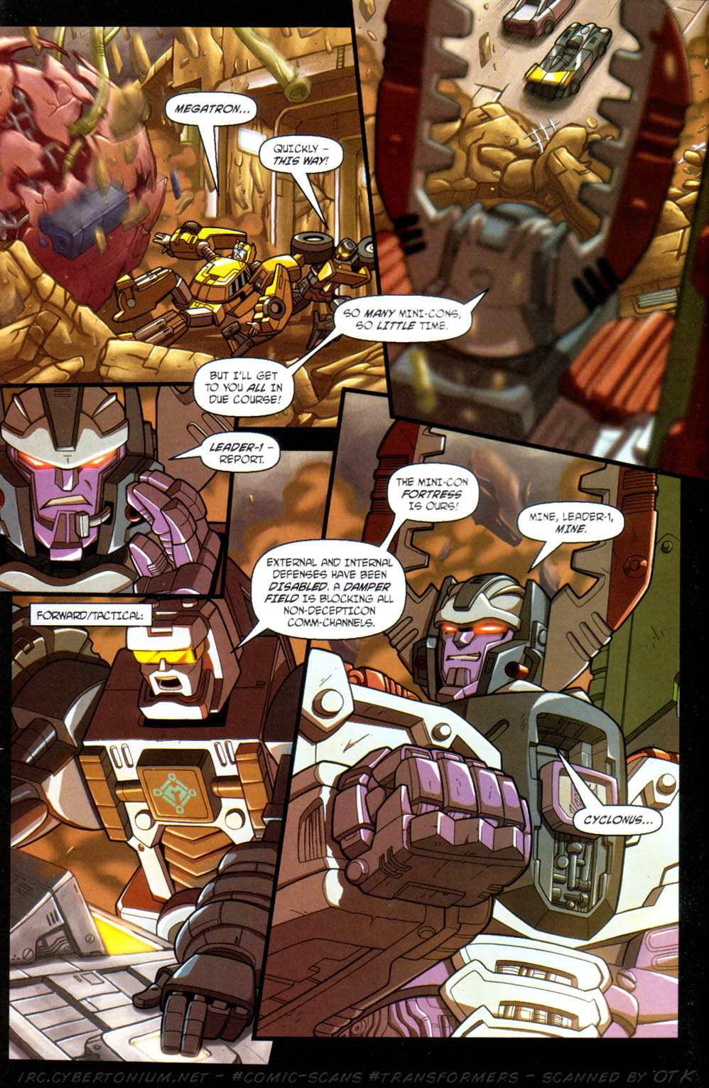 Read online Transformers Armada comic -  Issue #11 - 6