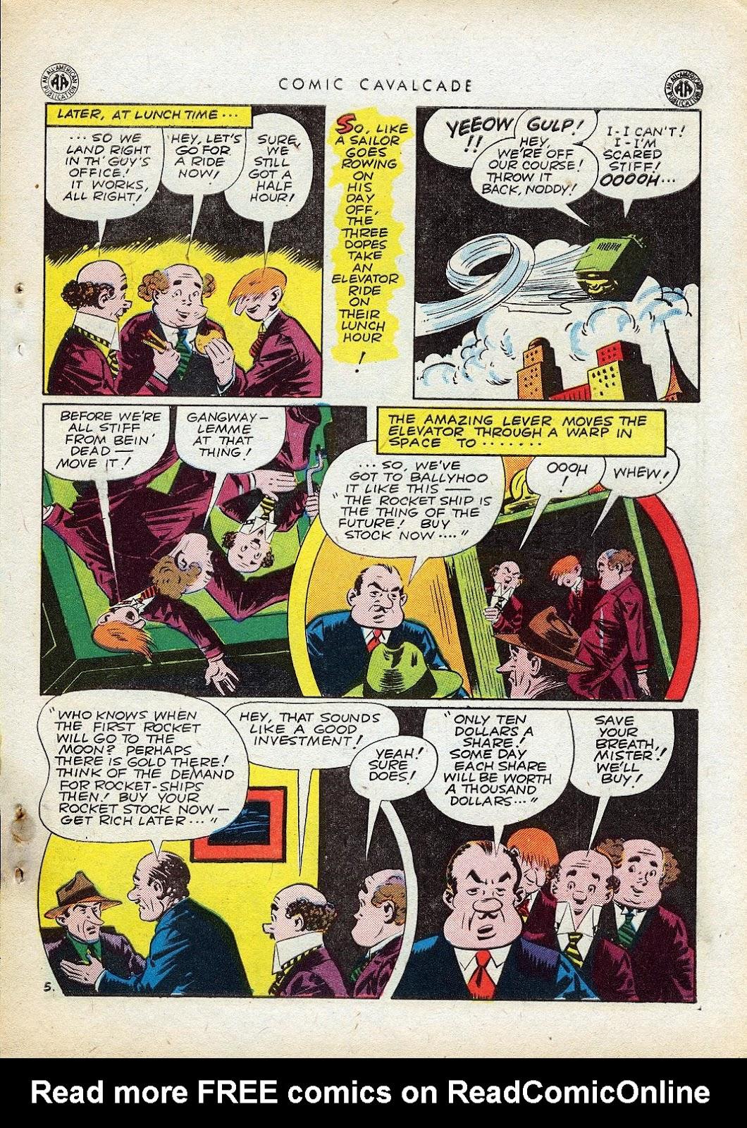 Comic Cavalcade issue 10 - Page 74