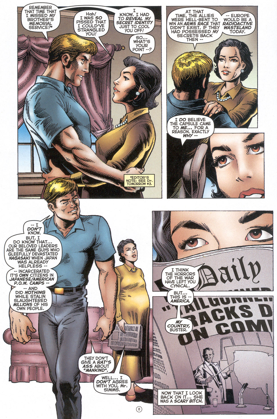 Read online Doctor Tomorrow comic -  Issue #4 - 7