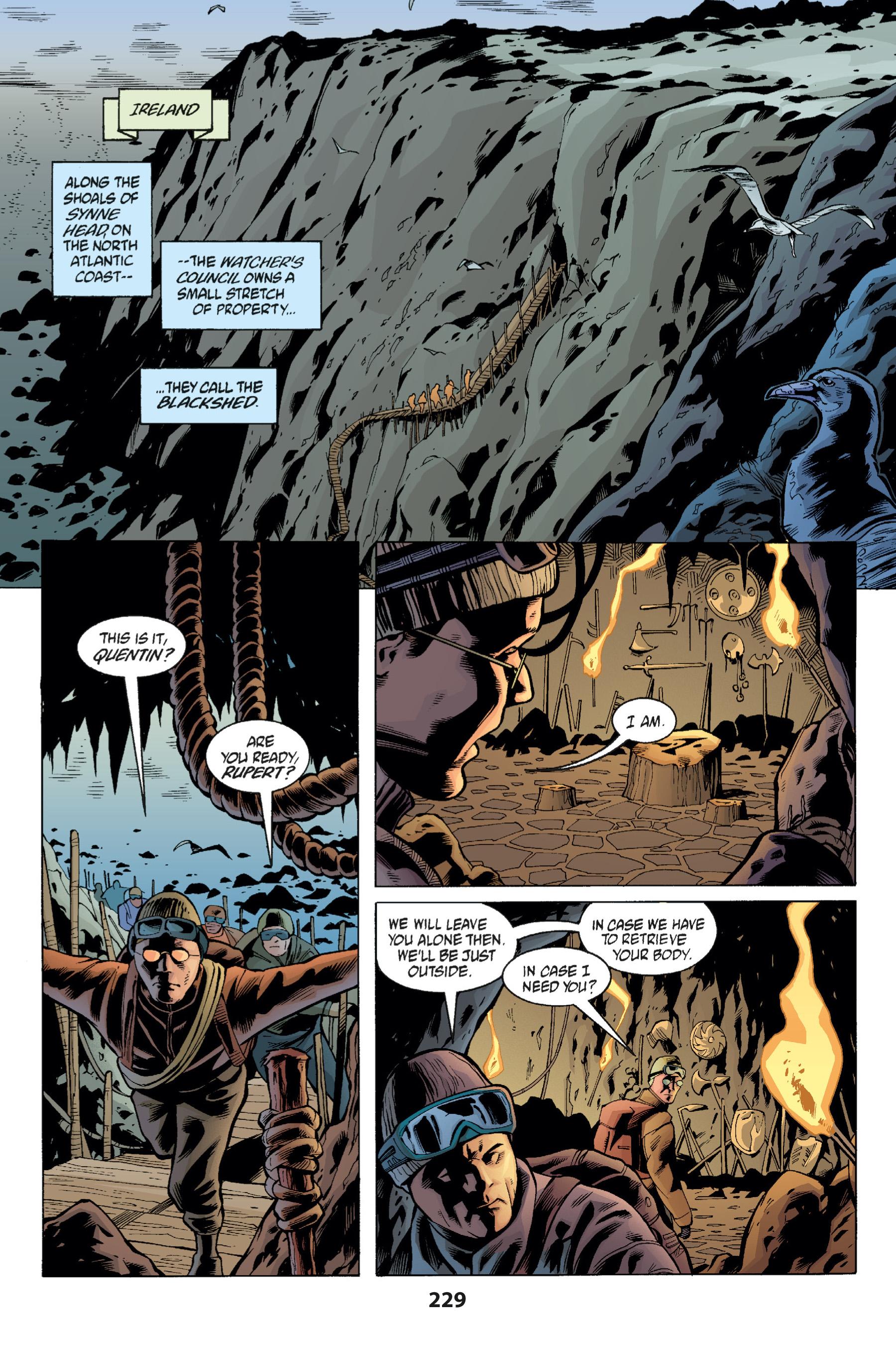 Read online Buffy the Vampire Slayer: Omnibus comic -  Issue # TPB 1 - 224