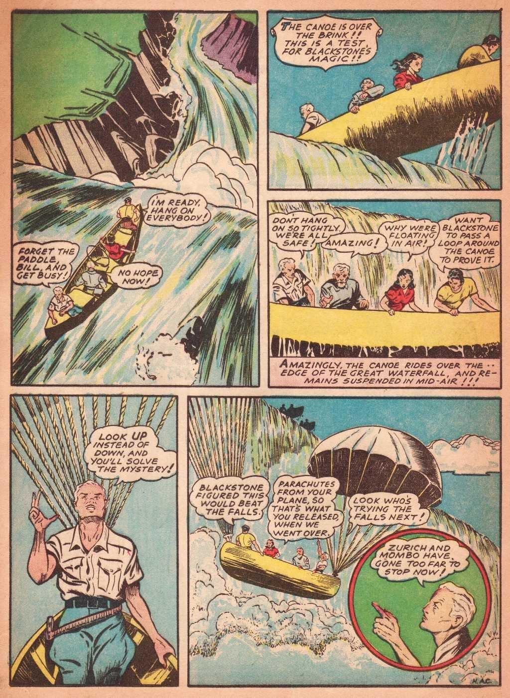 Read online Super-Magician Comics comic -  Issue #2 - 36