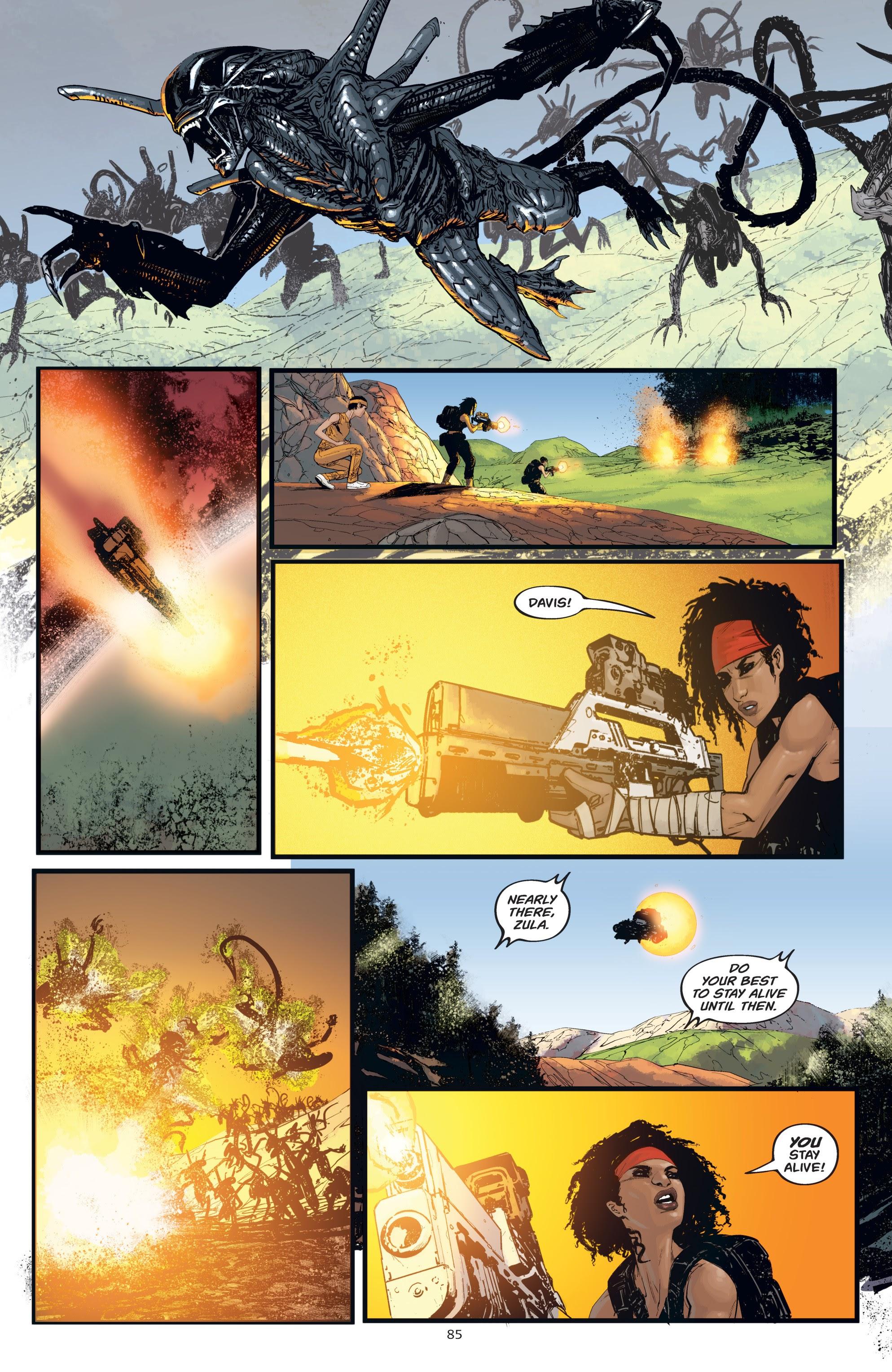 Read online Aliens: Resistance comic -  Issue # _TPB - 85