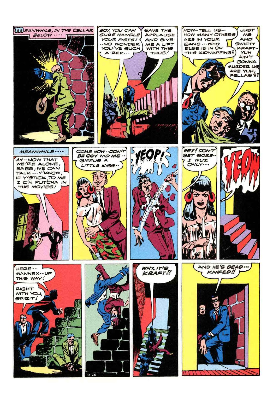 Read online Will Eisner's The Spirit Archives comic -  Issue # TPB 3 (Part 2) - 36