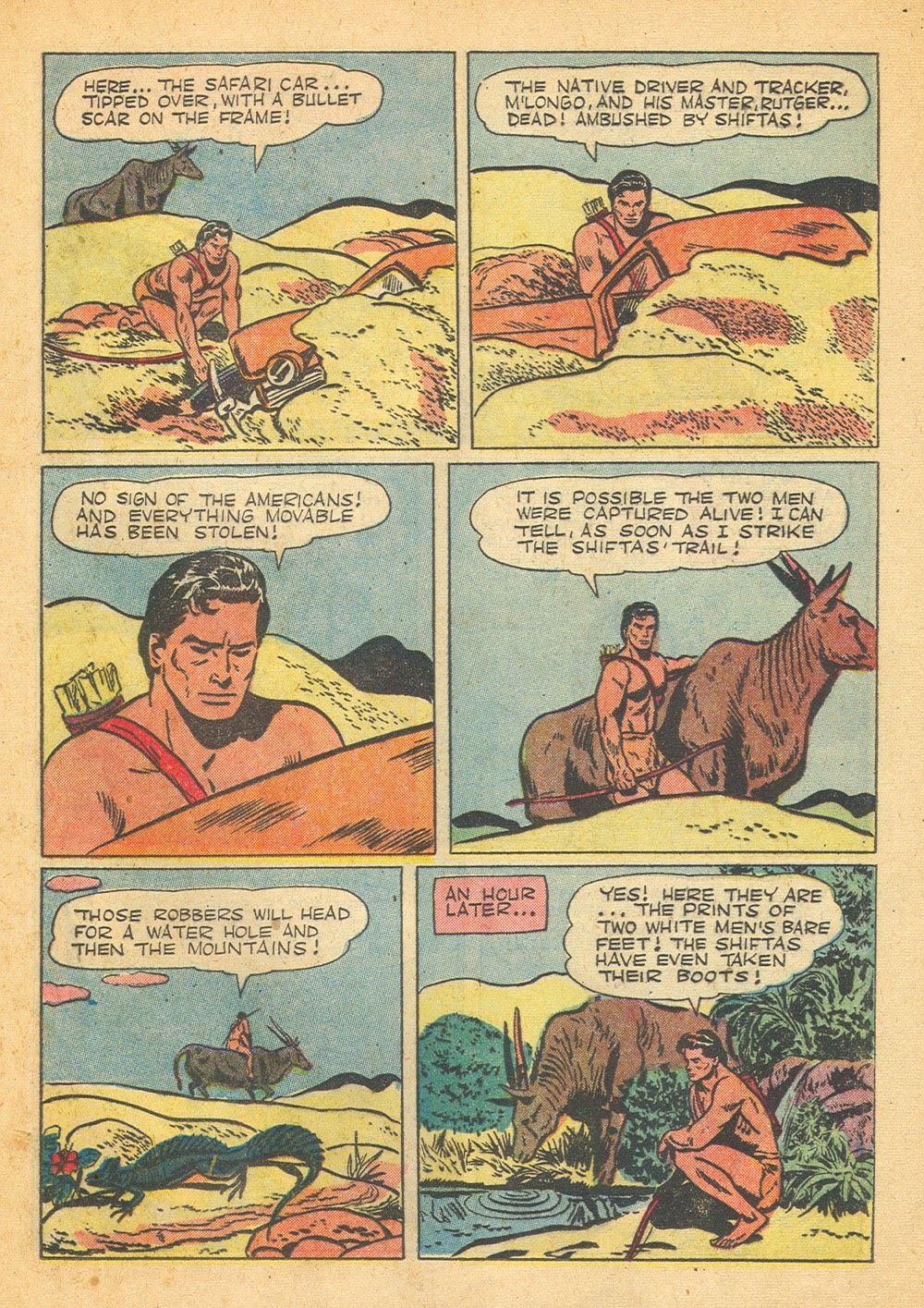 Tarzan (1948) issue 57 - Page 33