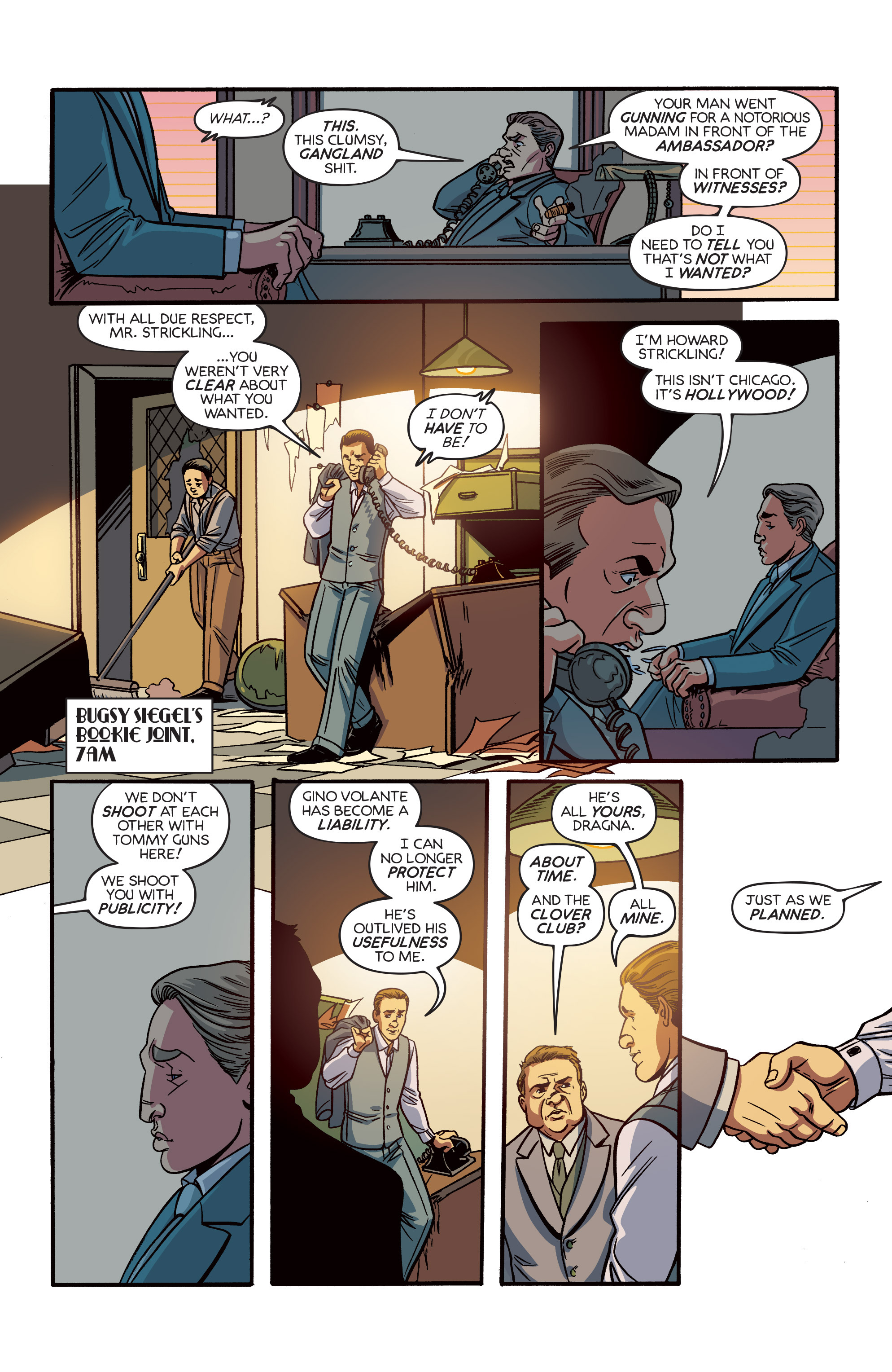 Read online Angel City comic -  Issue #6 - 13