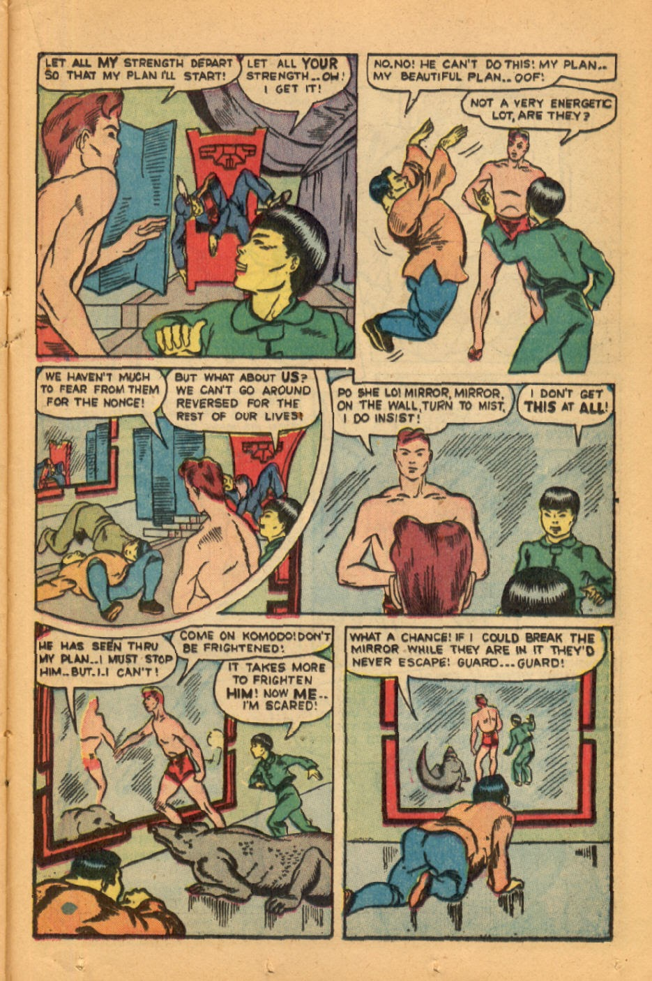 Read online Super-Magician Comics comic -  Issue #45 - 33