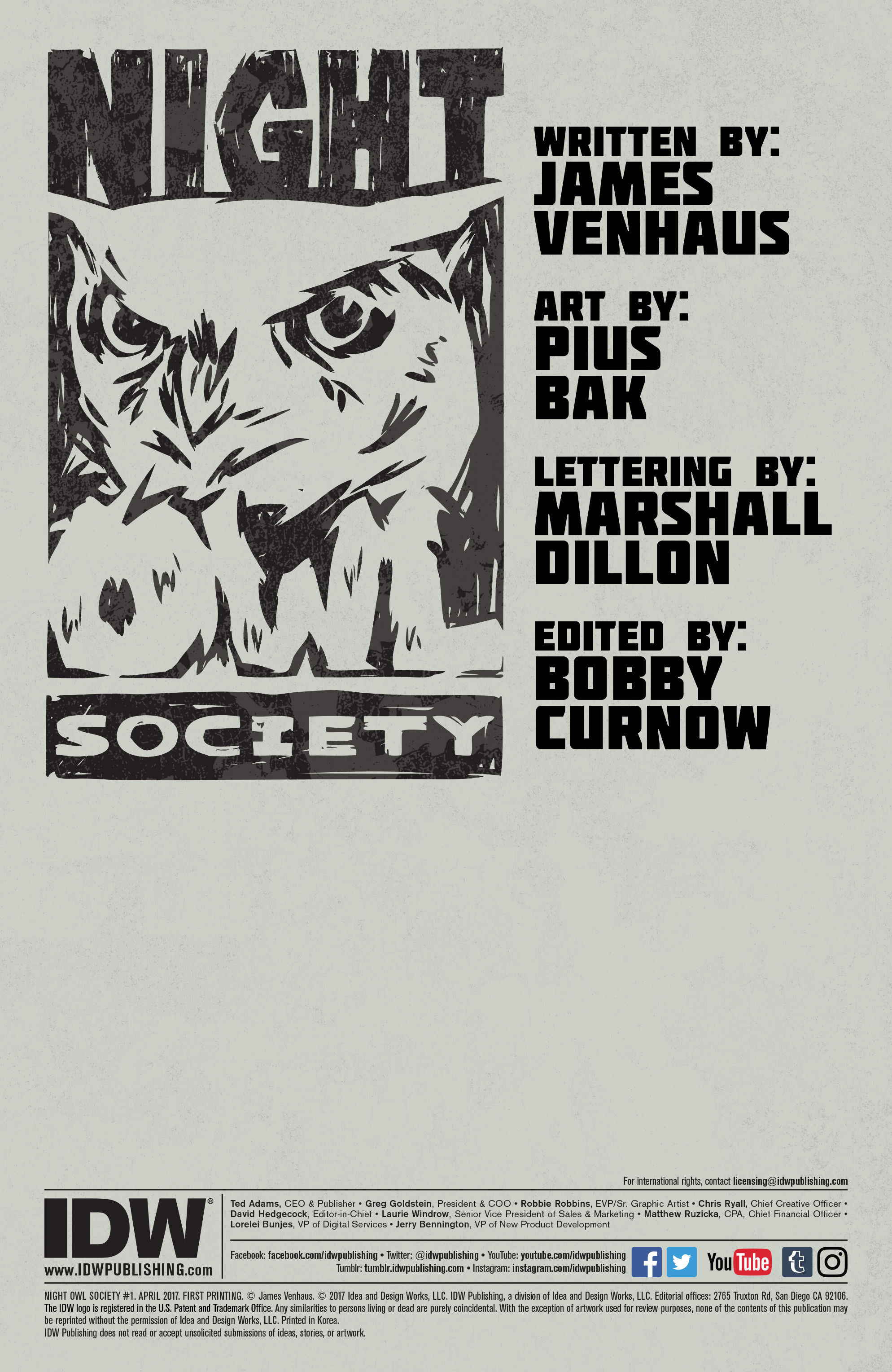 Read online Night Owl Society comic -  Issue #1 - 2