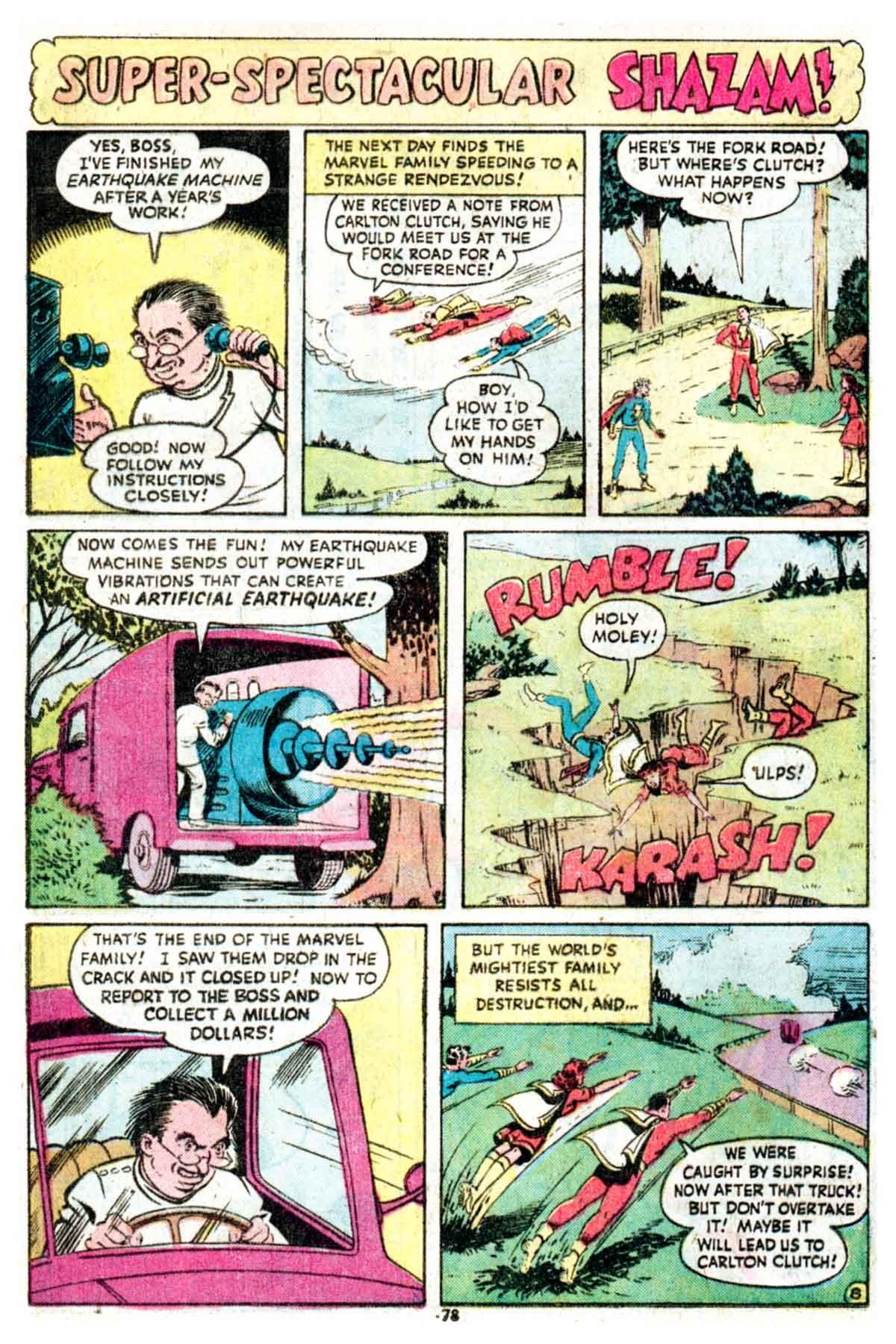 Read online Shazam! (1973) comic -  Issue #16 - 78
