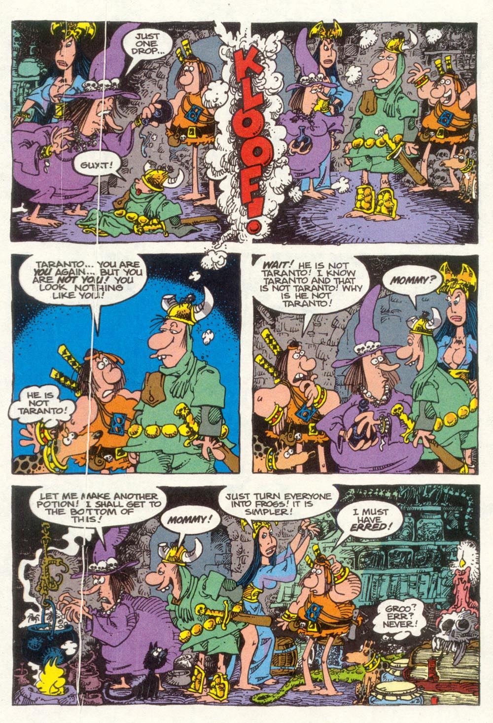 Read online Sergio Aragonés Groo the Wanderer comic -  Issue #92 - 16