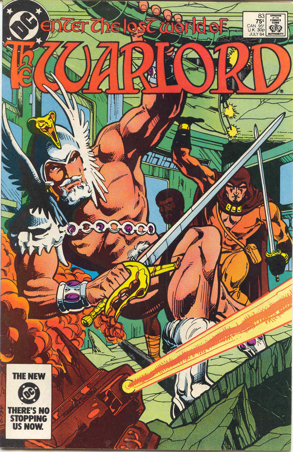 Warlord (1976) issue 83 - Page 1