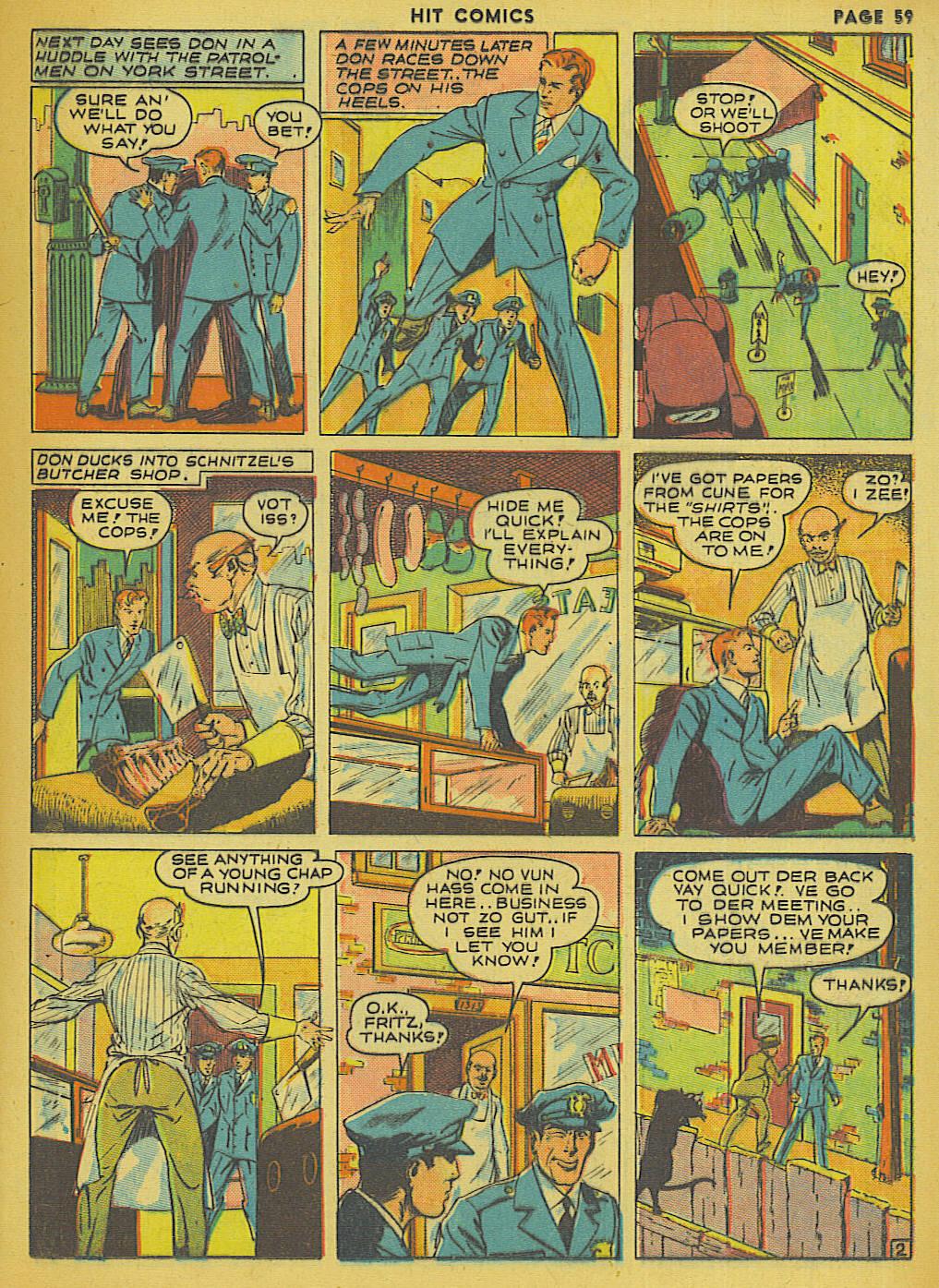 Read online Hit Comics comic -  Issue #13 - 61