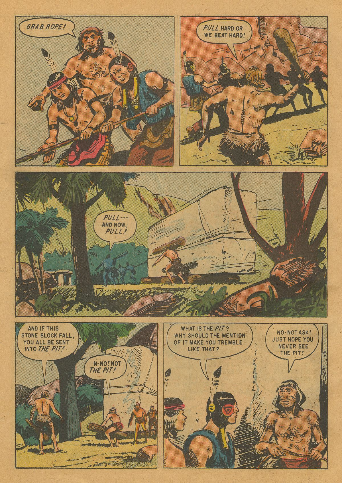 Read online Turok, Son of Stone comic -  Issue #22 - 26