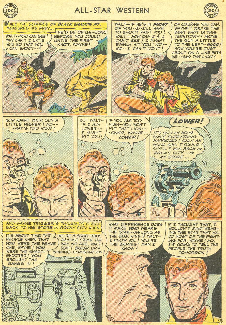 Read online All-Star Western (1951) comic -  Issue #92 - 5