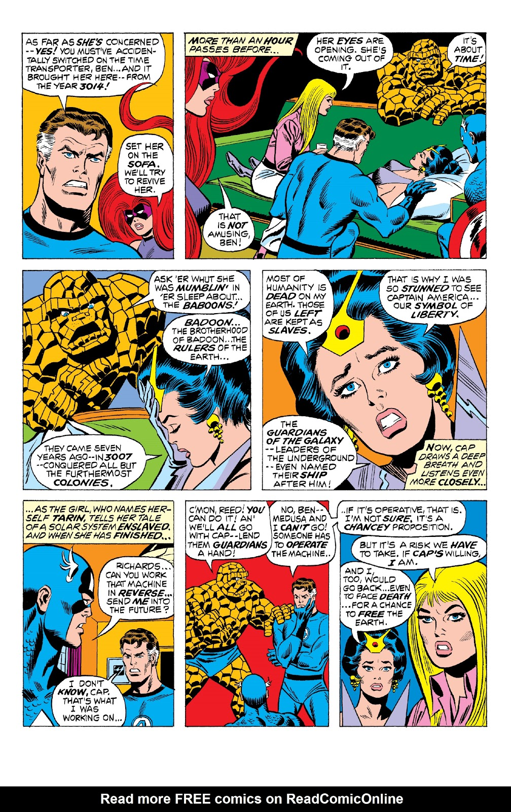 Read online Marvel Two-In-One Epic Collection: Cry Monster comic -  Issue # TPB (Part 2) - 16