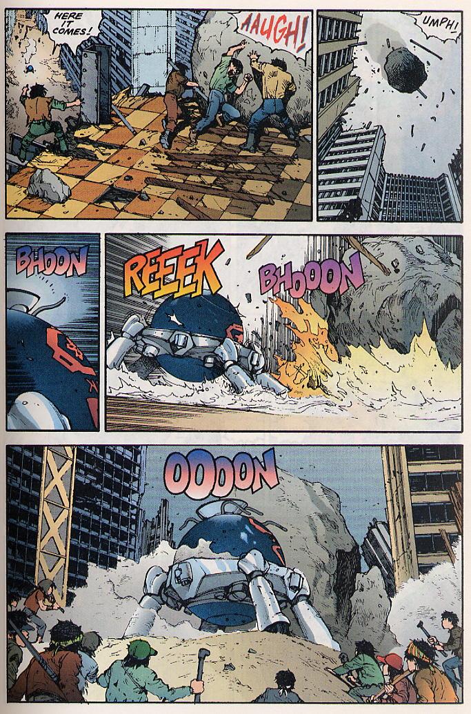 Read online Akira comic -  Issue #17 - 18