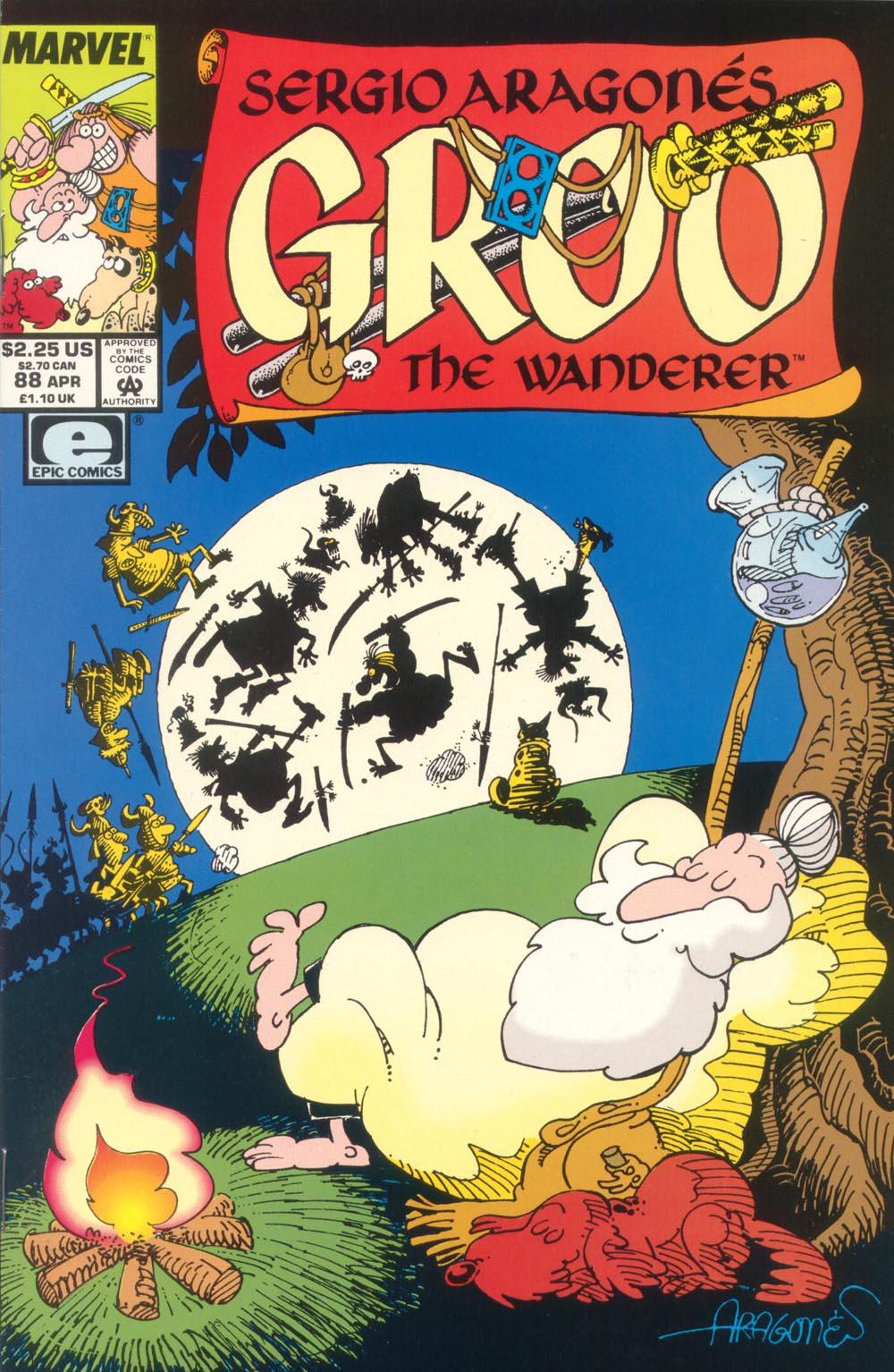 Read online Sergio Aragonés Groo the Wanderer comic -  Issue #88 - 1